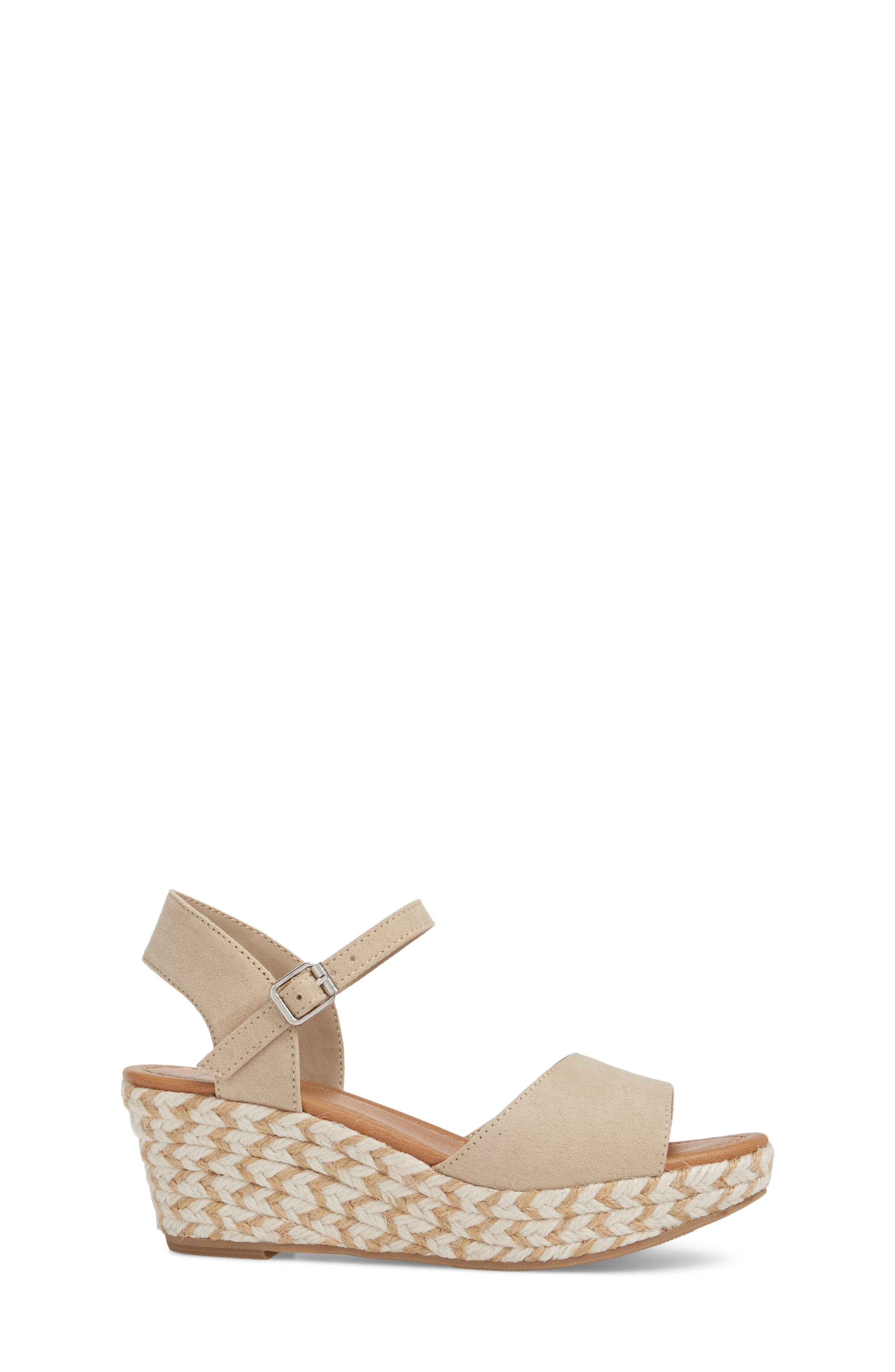 Wendy Espadrille Wedge Sandal,                             Alternate thumbnail 3, color,                             277