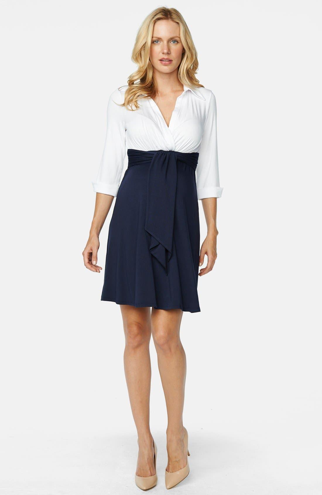 Maternity Shirtdress,                         Main,                         color, 461