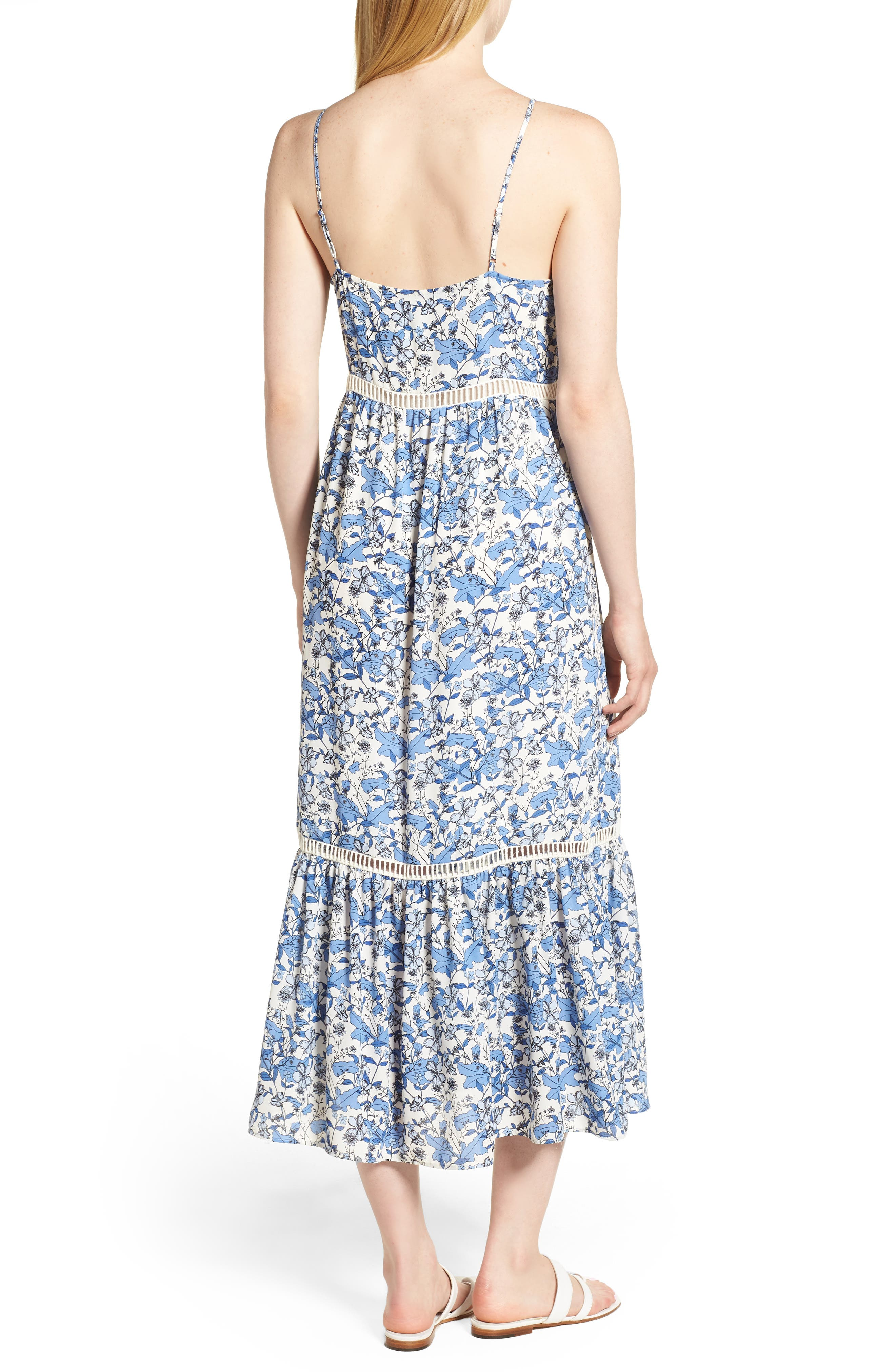 Ivy Forest Maxi Dress,                             Alternate thumbnail 6, color,