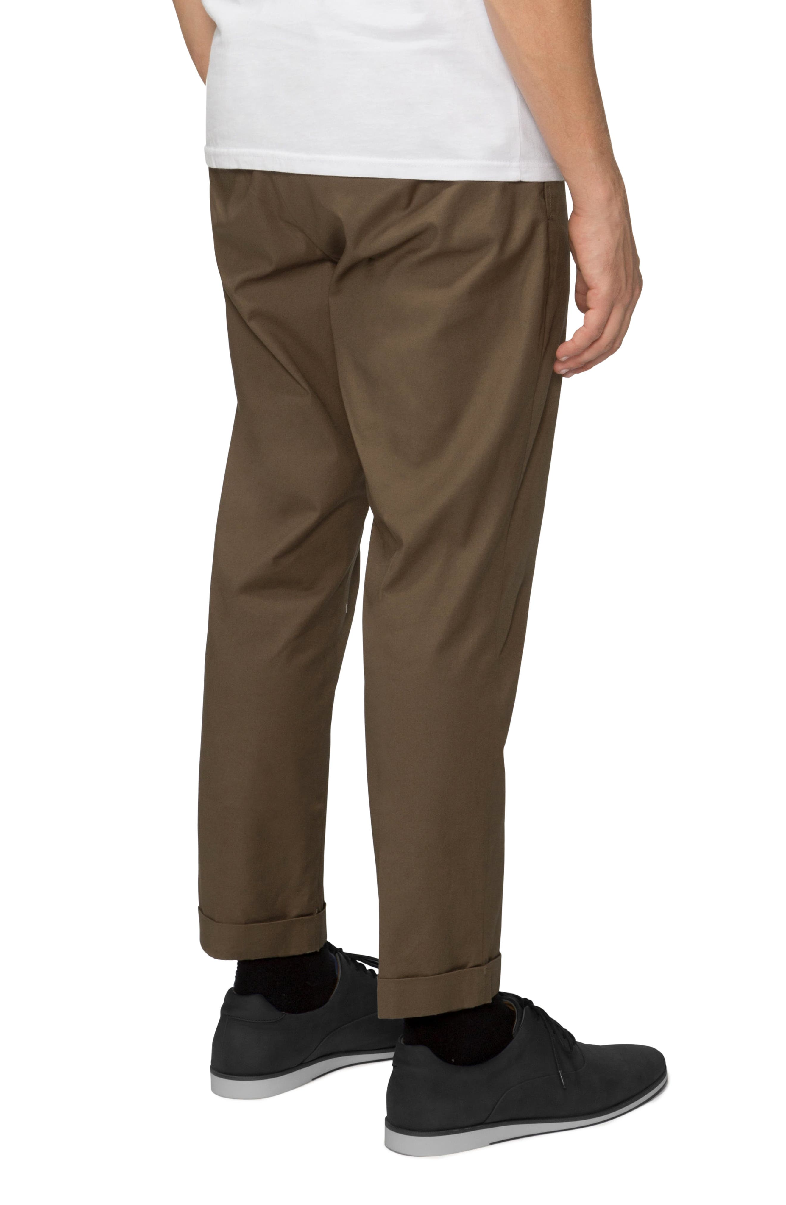 'Arroyo' Crop Stretch Chinos,                             Alternate thumbnail 9, color,
