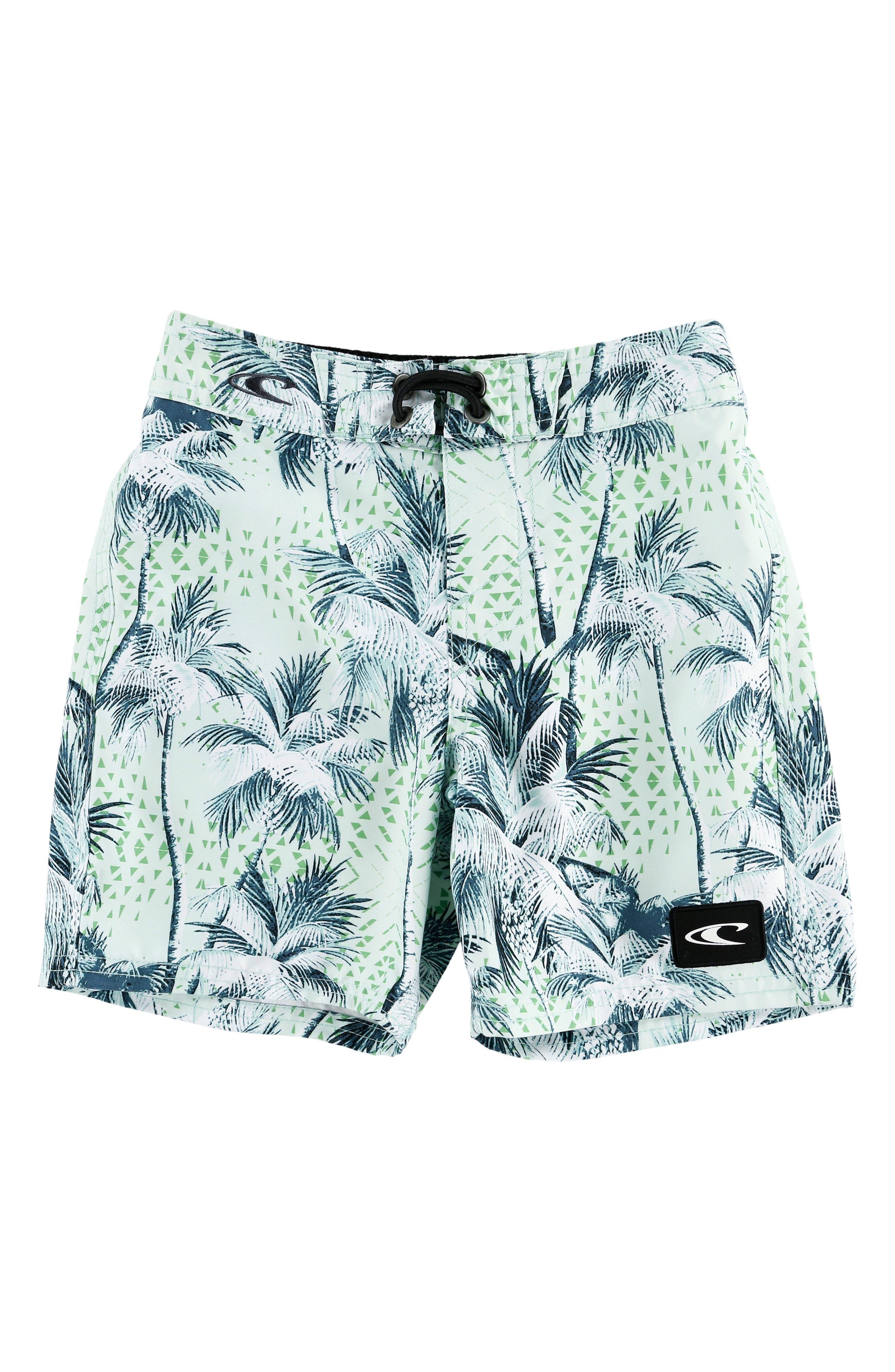 O'NEILL Darn Old Palmer Board Shorts, Main, color, 400