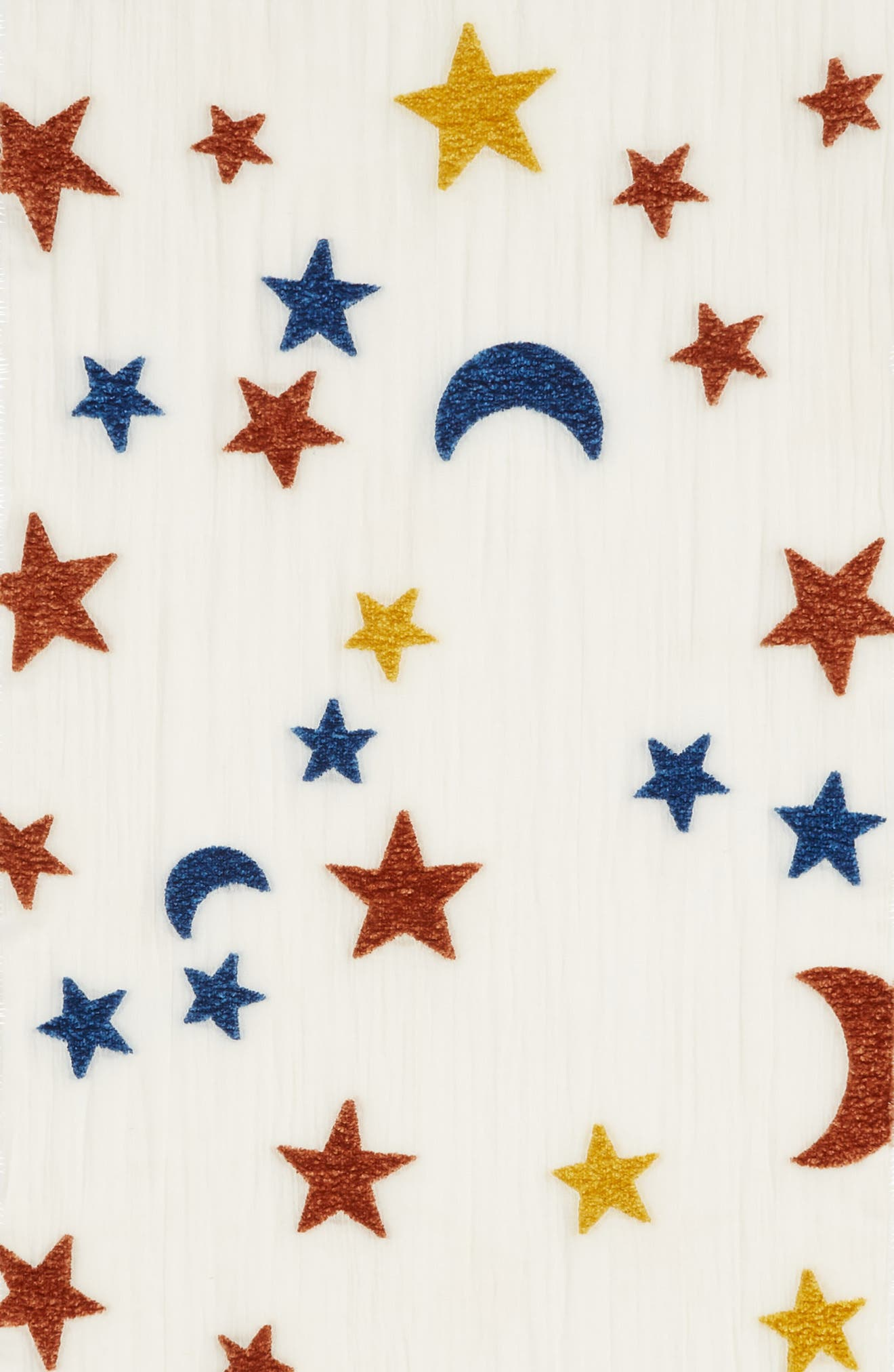 Starry Night Chenille Scarf,                             Alternate thumbnail 4, color,                             100