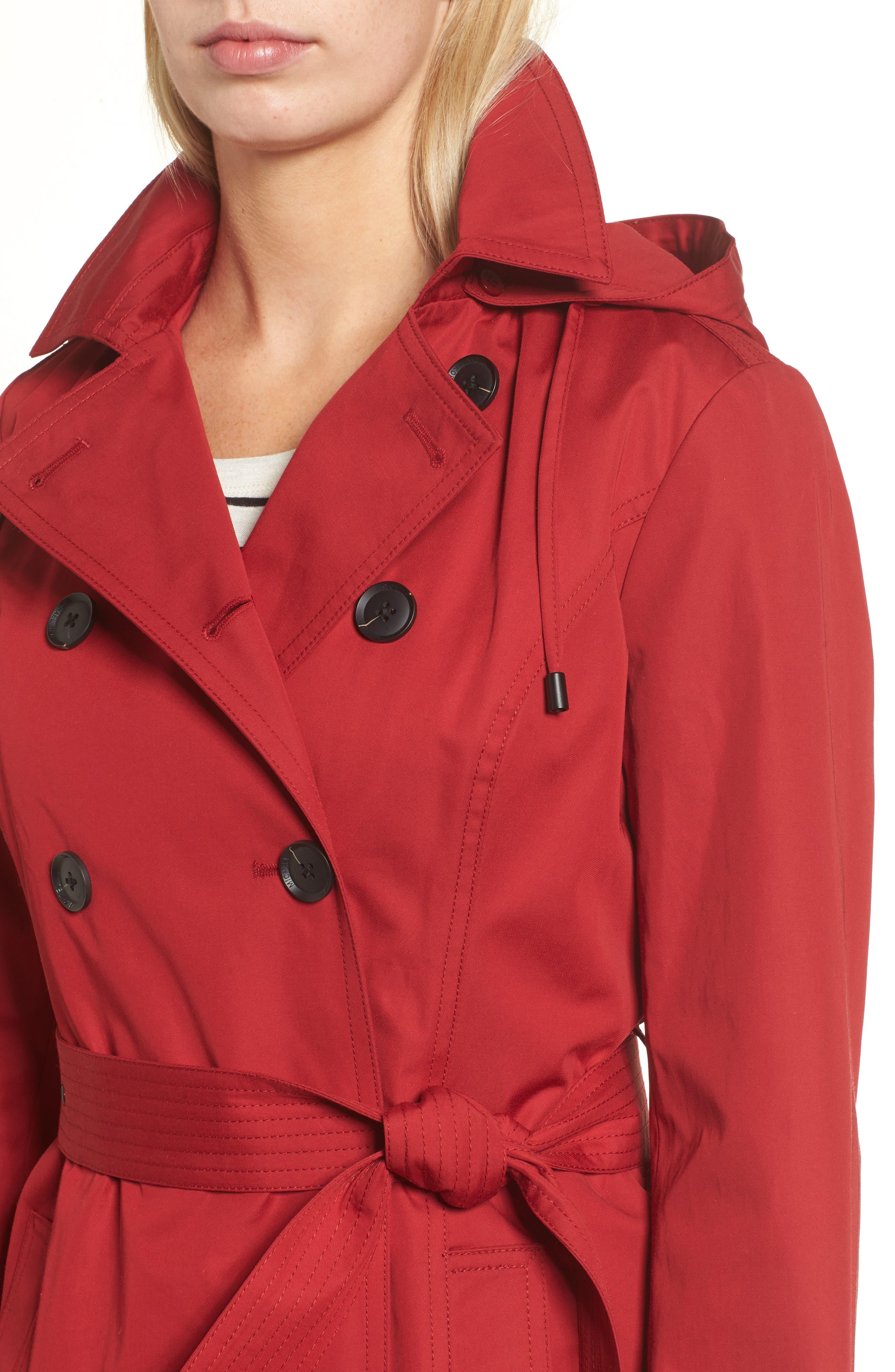 Belted Parka Jacket,                             Alternate thumbnail 12, color,