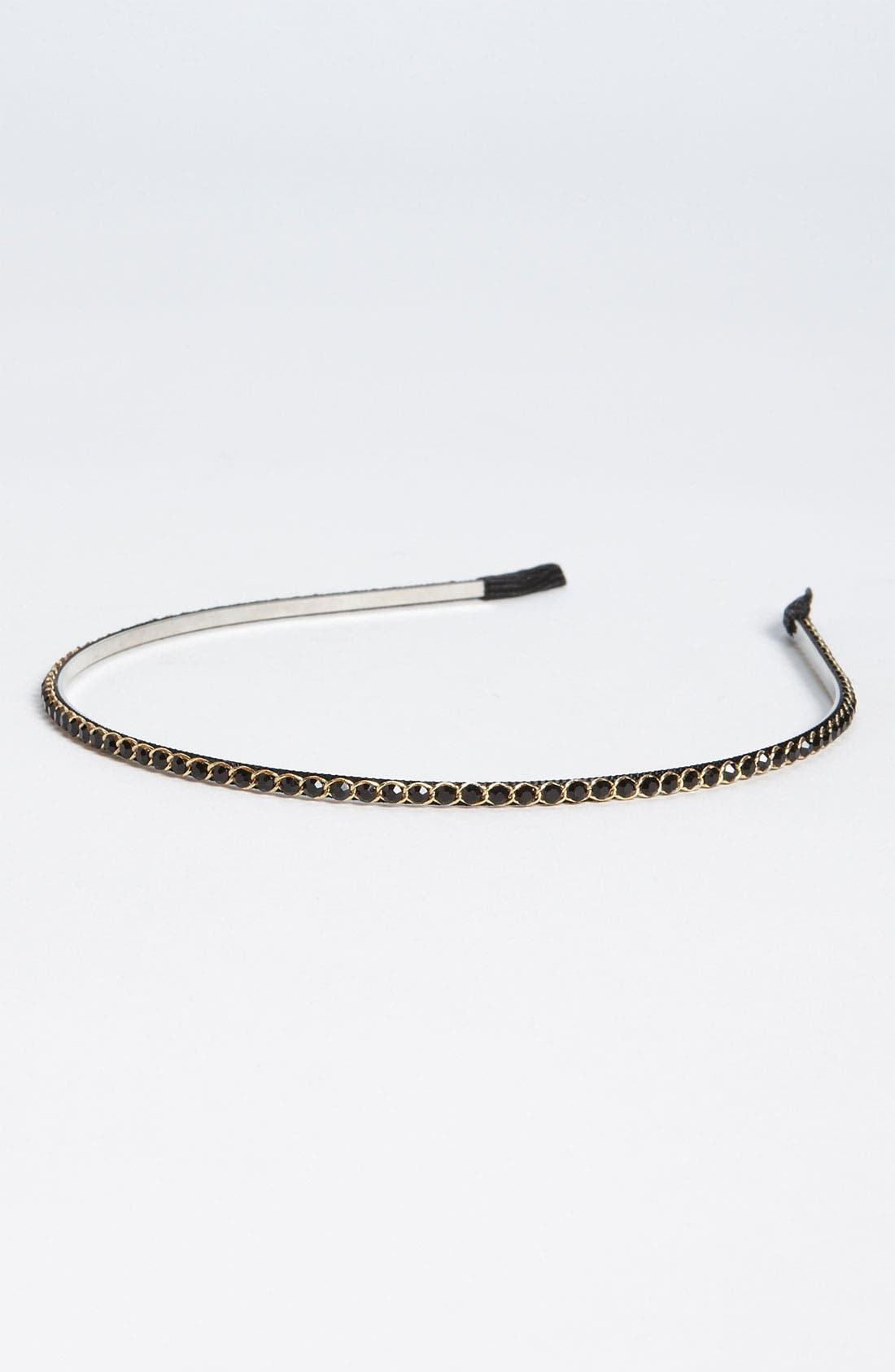 Skinny Crystal Headband,                             Main thumbnail 2, color,
