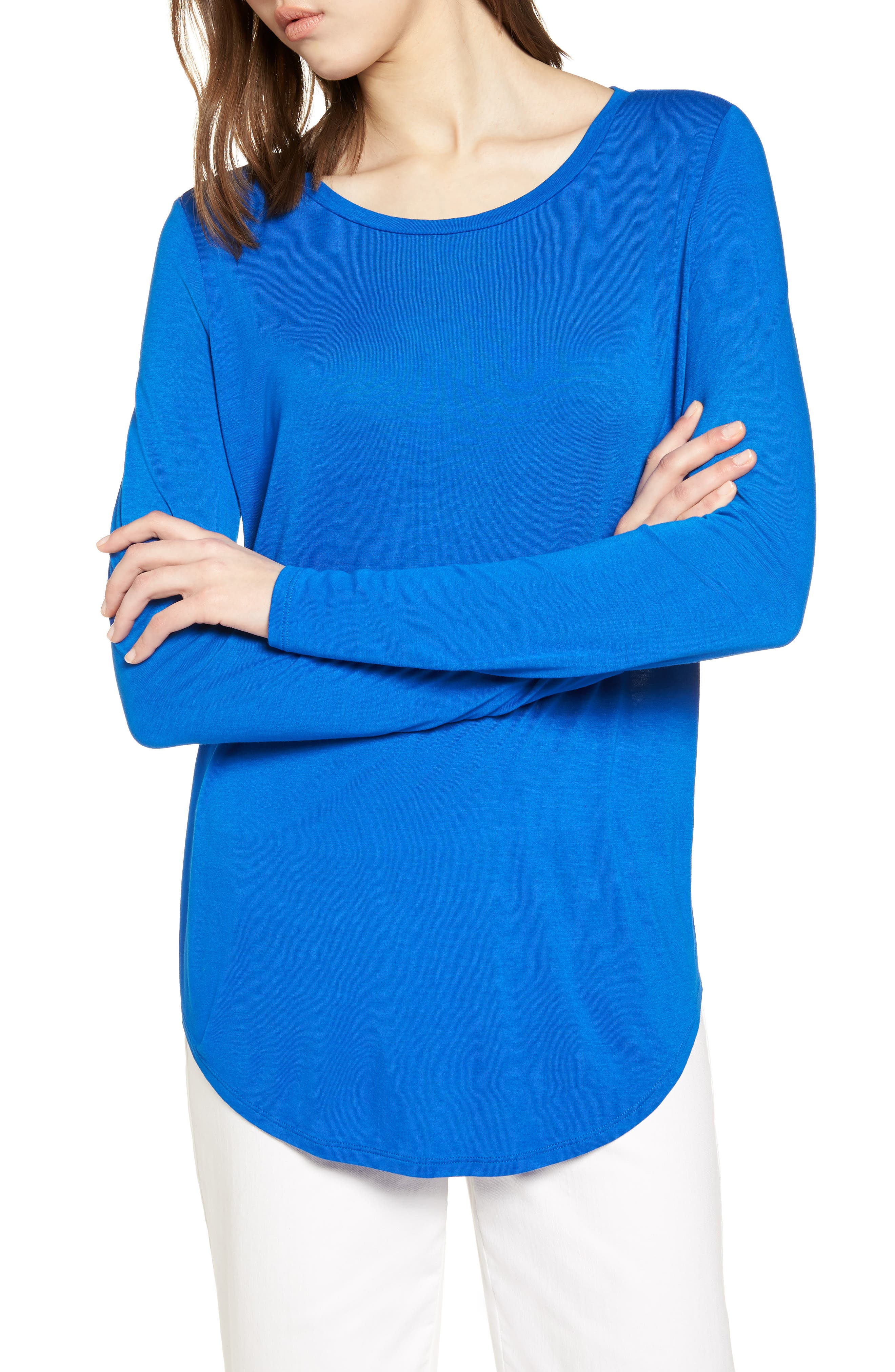 Shirttail Tee,                         Main,                         color, 401