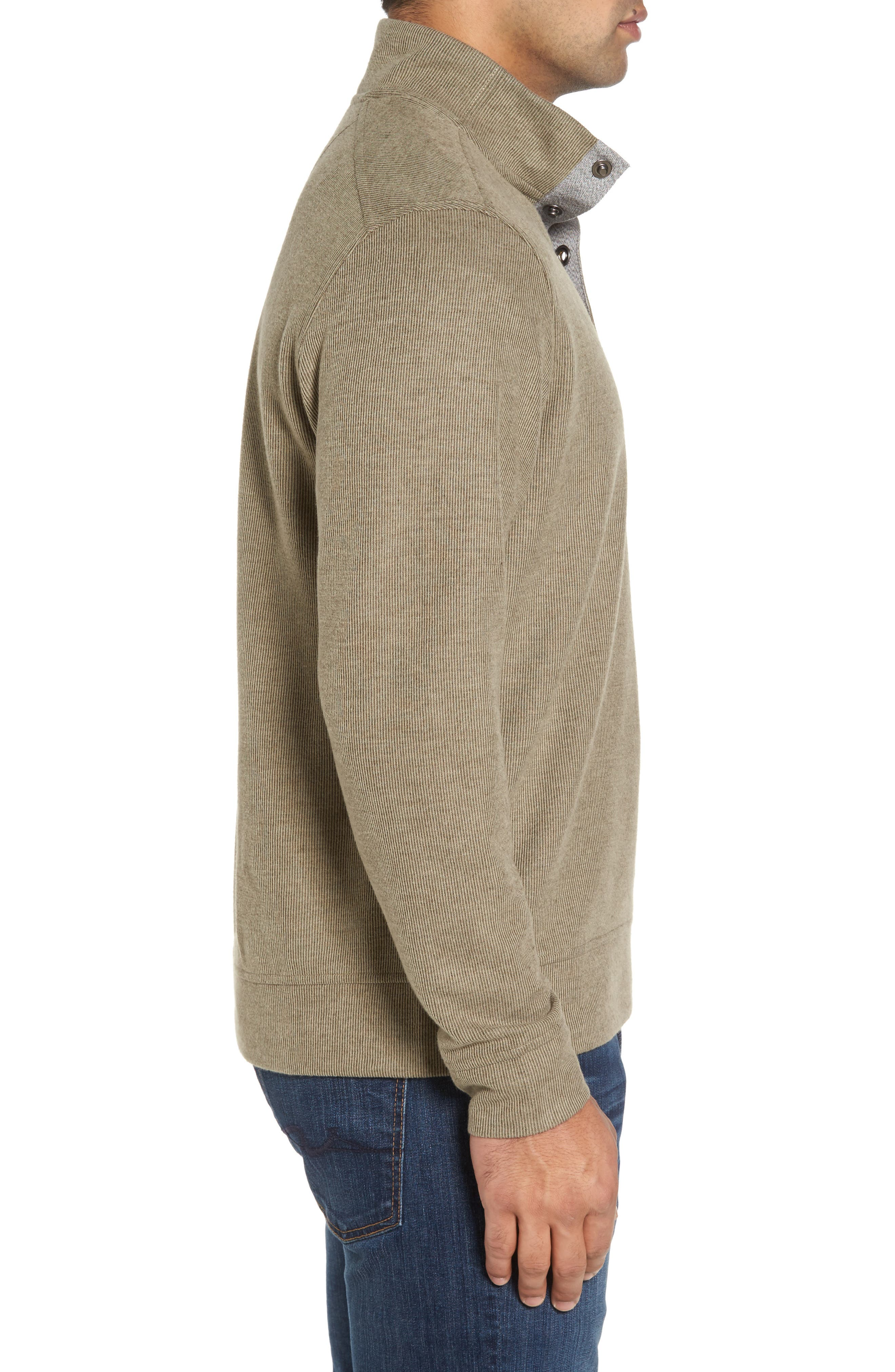 Cold Springs Snap Mock Neck Sweater,                             Alternate thumbnail 15, color,