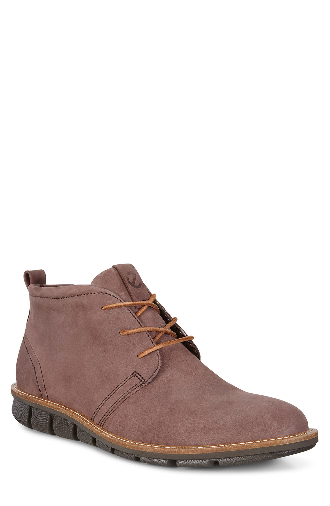 'Jeremy Hybrid' Plain Toe Boot,                             Main thumbnail 1, color,                             COFFEE LEATHER