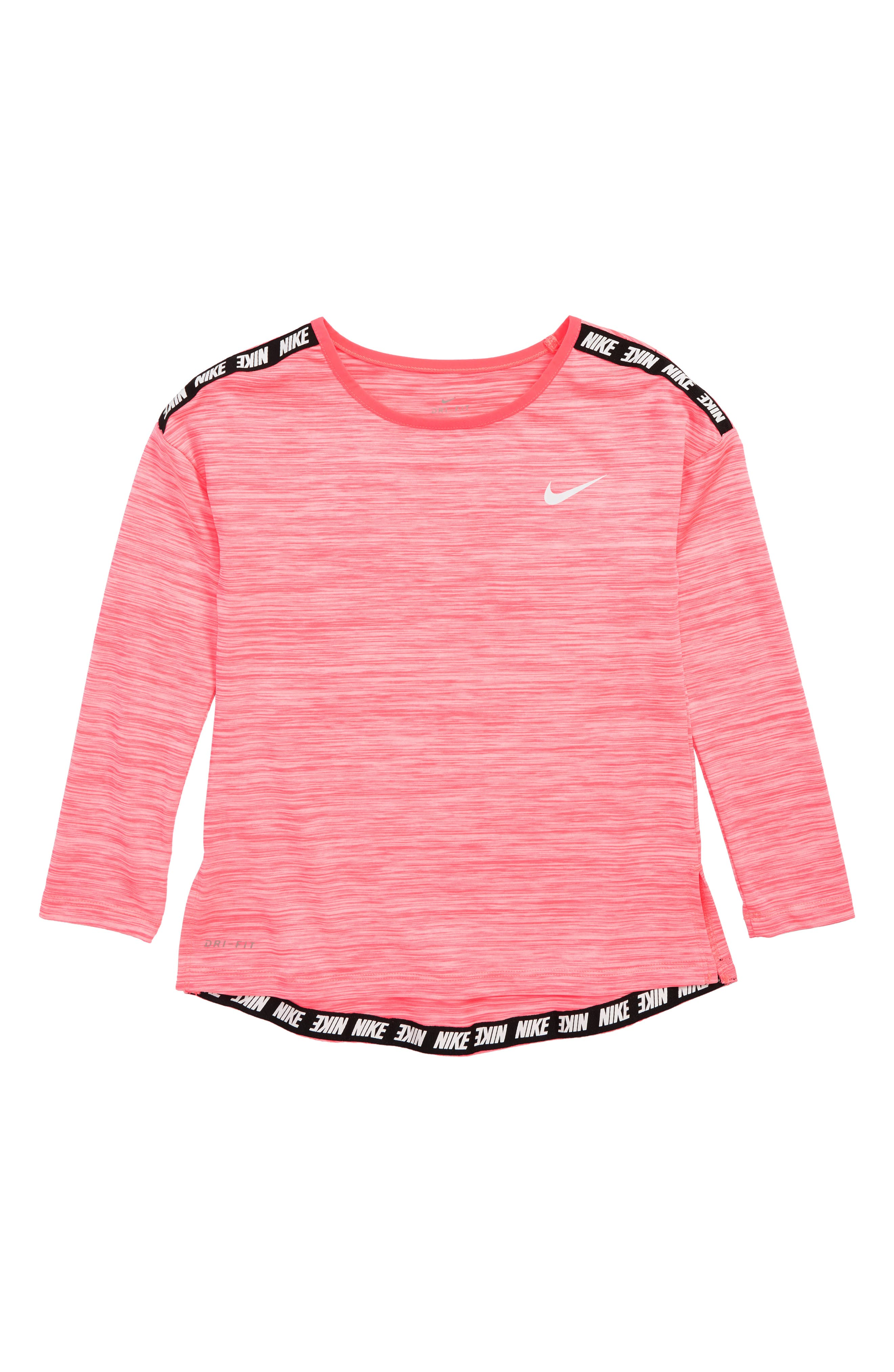 Dry Sport Essentials Slide Tunic,                             Main thumbnail 1, color,                             RACER PINK