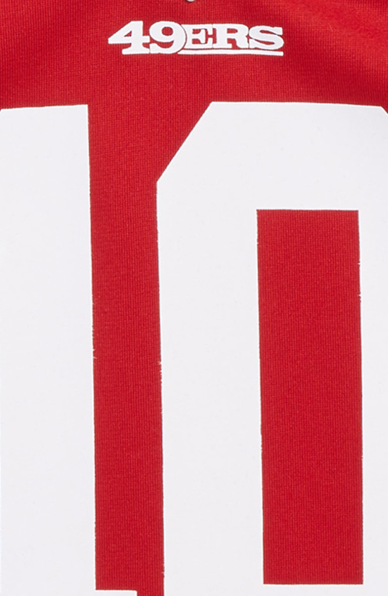 NFL San Francisco 49ers Jimmy Garoppolo Jersey,                             Alternate thumbnail 3, color,                             RED