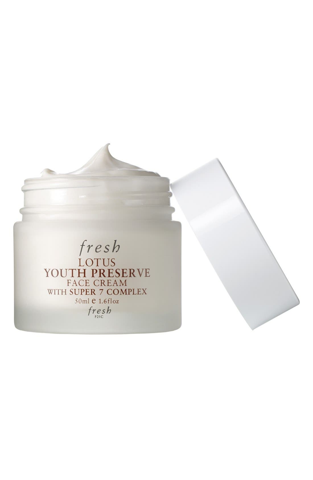 Lotus Youth Preserve Face Cream,                             Alternate thumbnail 4, color,                             NO COLOR