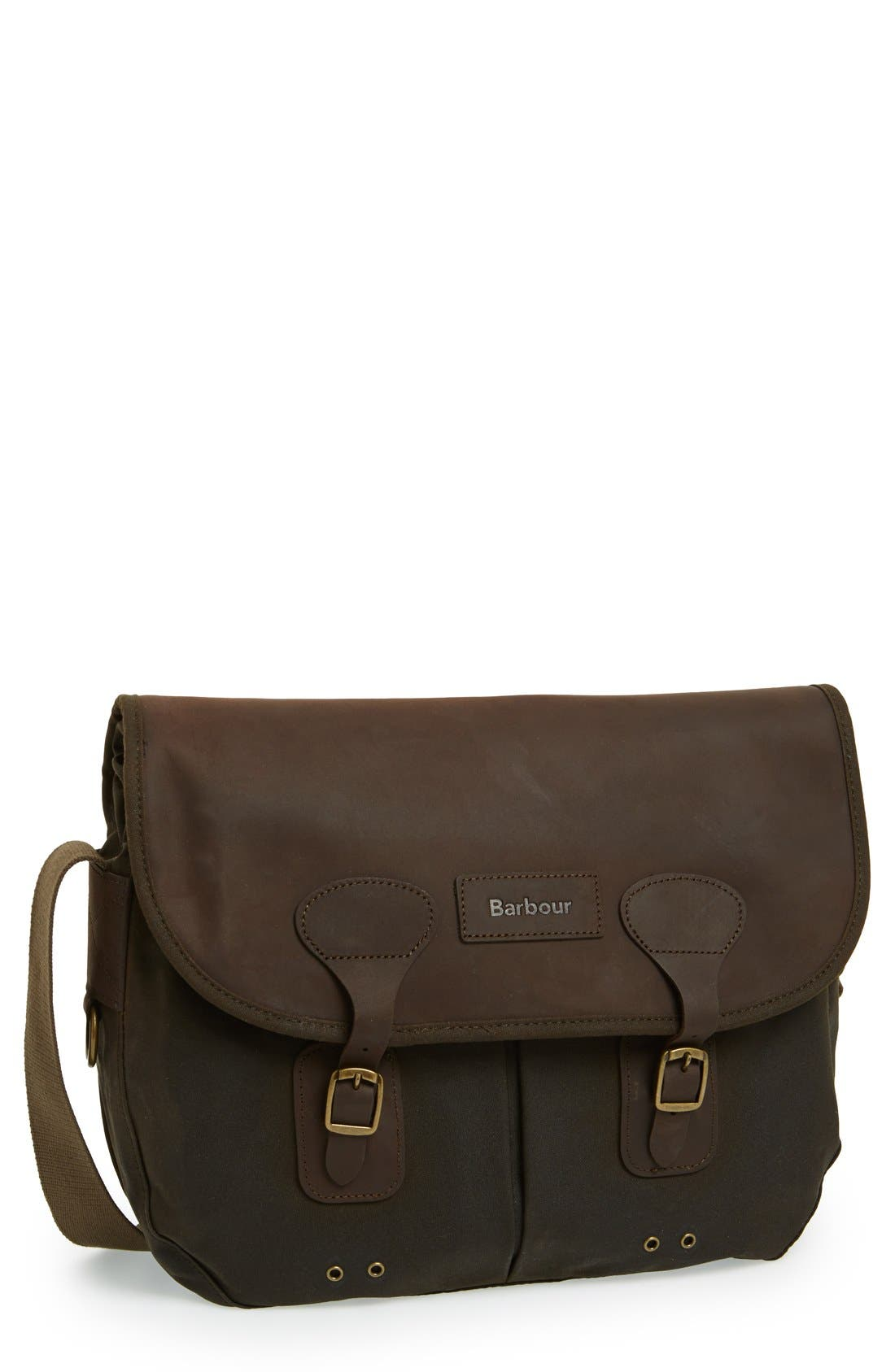 Waxed Canvas Tarras Bag,                         Main,                         color,