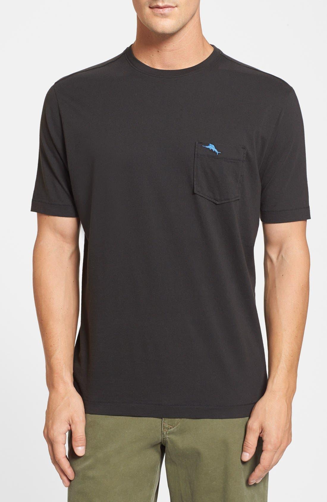 New Bali Sky Pima Cotton Pocket T-Shirt,                             Main thumbnail 6, color,