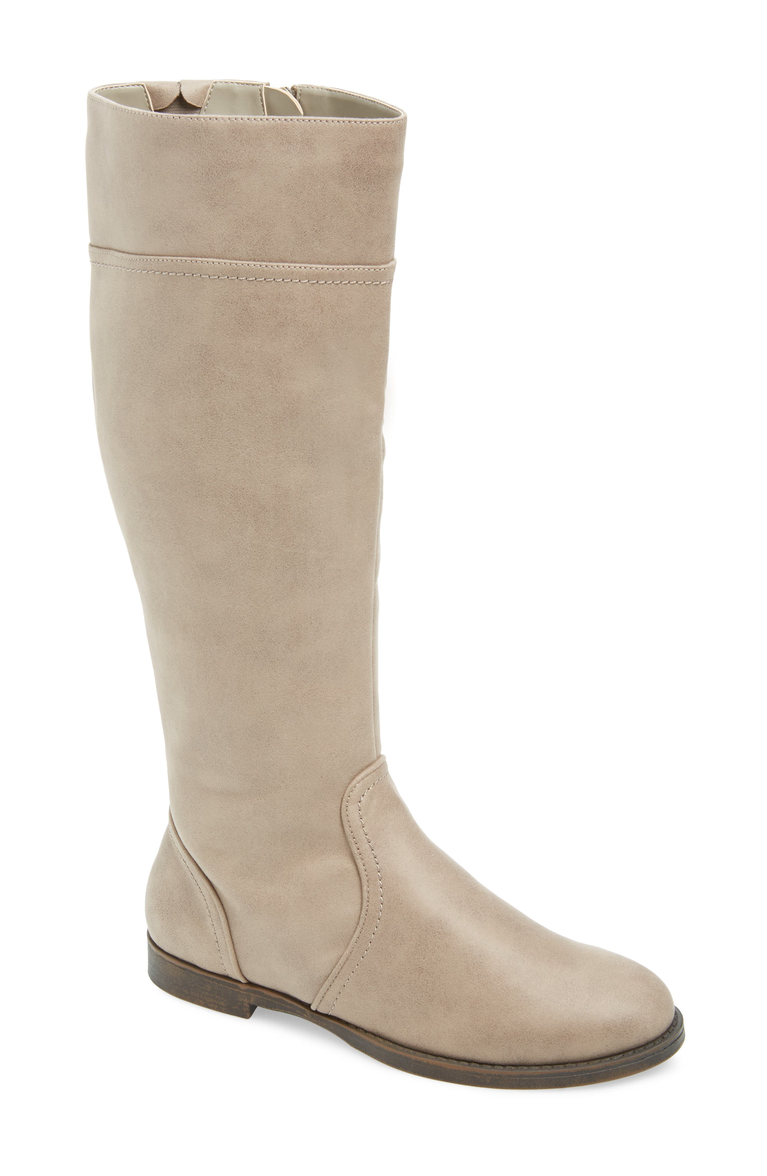 Bella Vita Rebecca Ii Knee High Boot, Beige