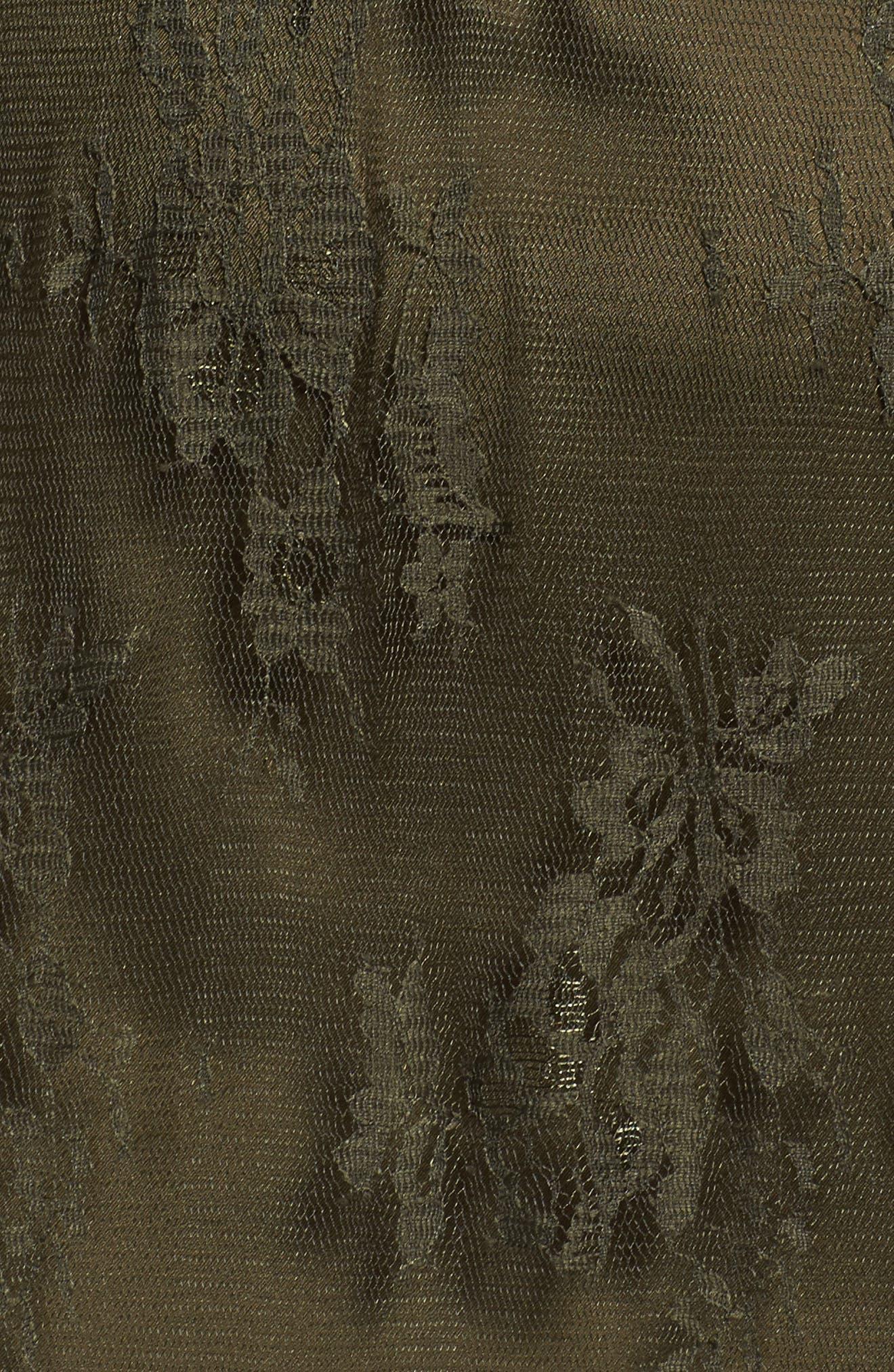 Lace Boho Maxi Dress,                             Alternate thumbnail 5, color,