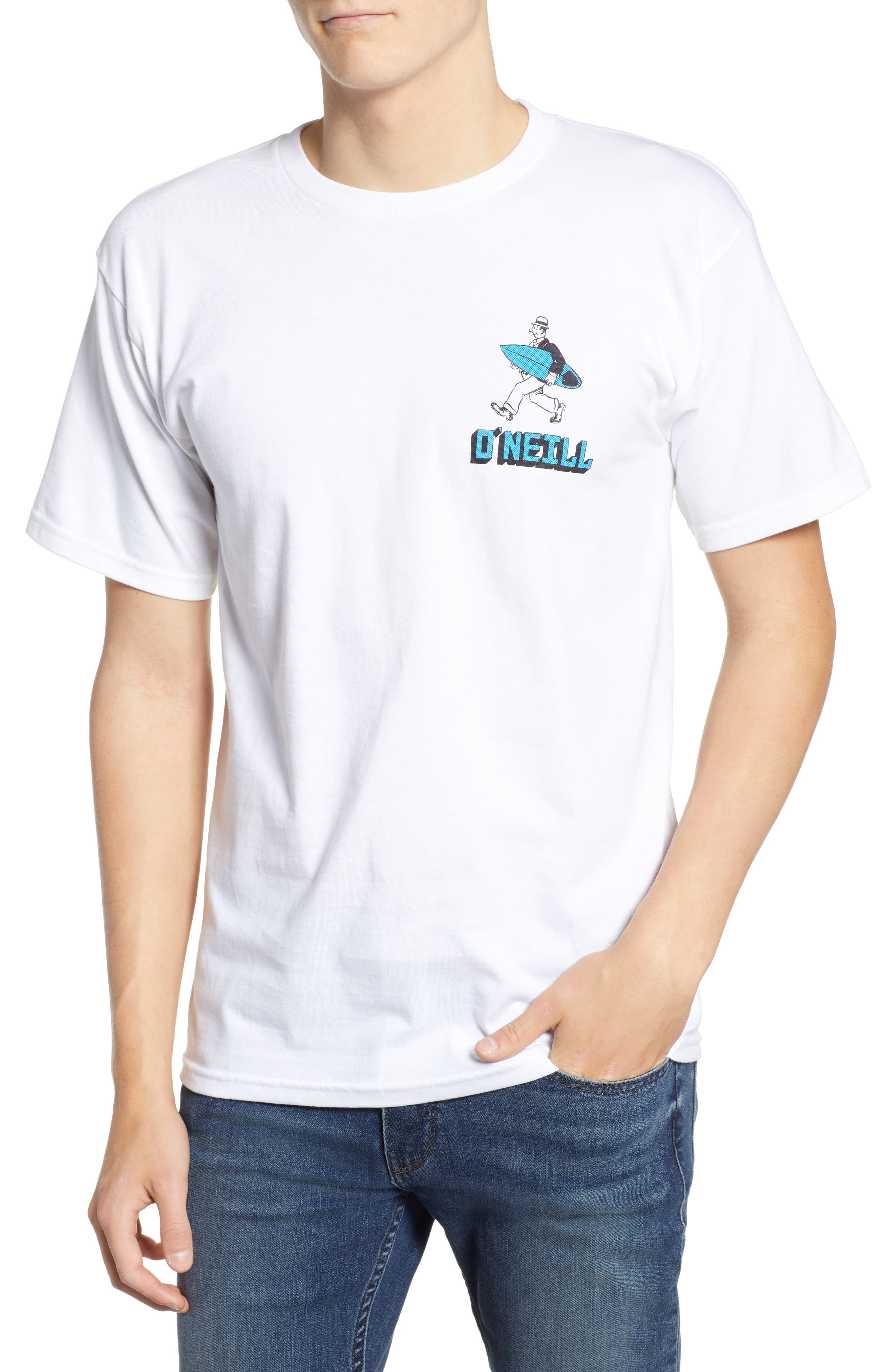 Work Less Graphic T-Shirt,                             Main thumbnail 1, color,                             100