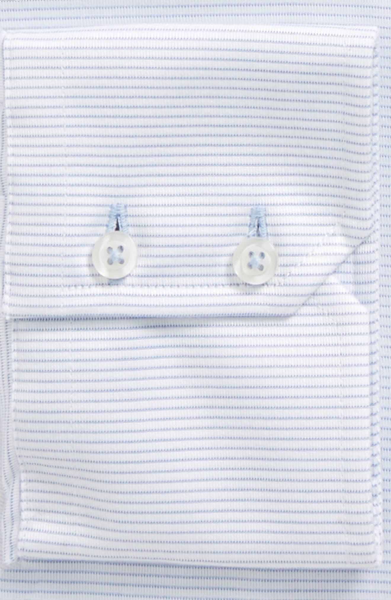 Trim Fit Textured Dress Shirt,                             Alternate thumbnail 2, color,                             454