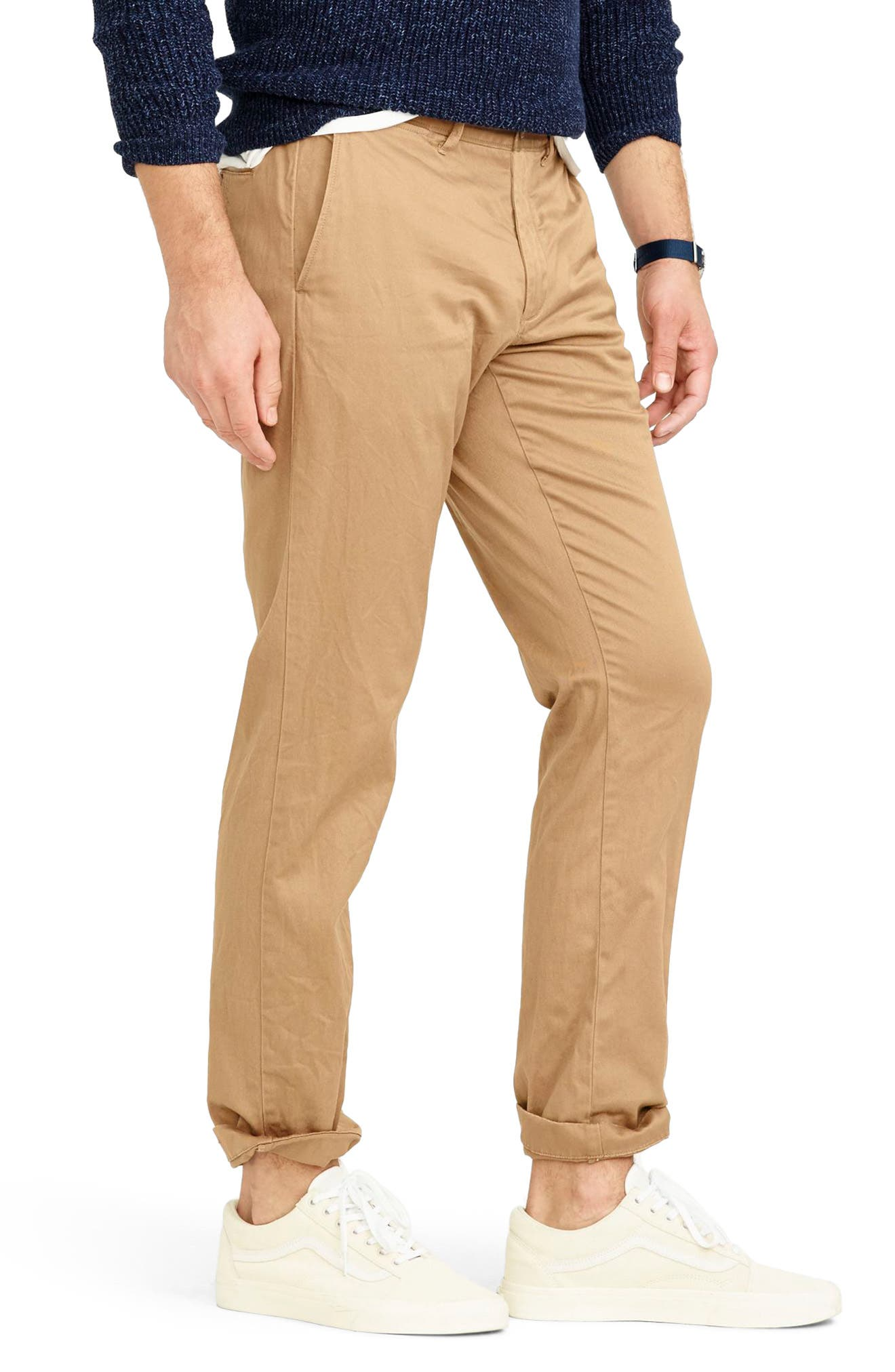 484 Slim Fit Stretch Chino Pants,                             Alternate thumbnail 28, color,