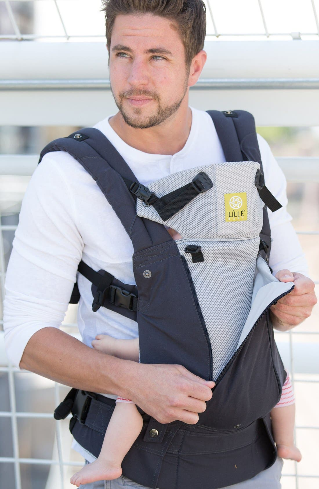 'Complete - All Seasons' Baby Carrier,                         Main,                         color, CHARCOAL/ SILVER