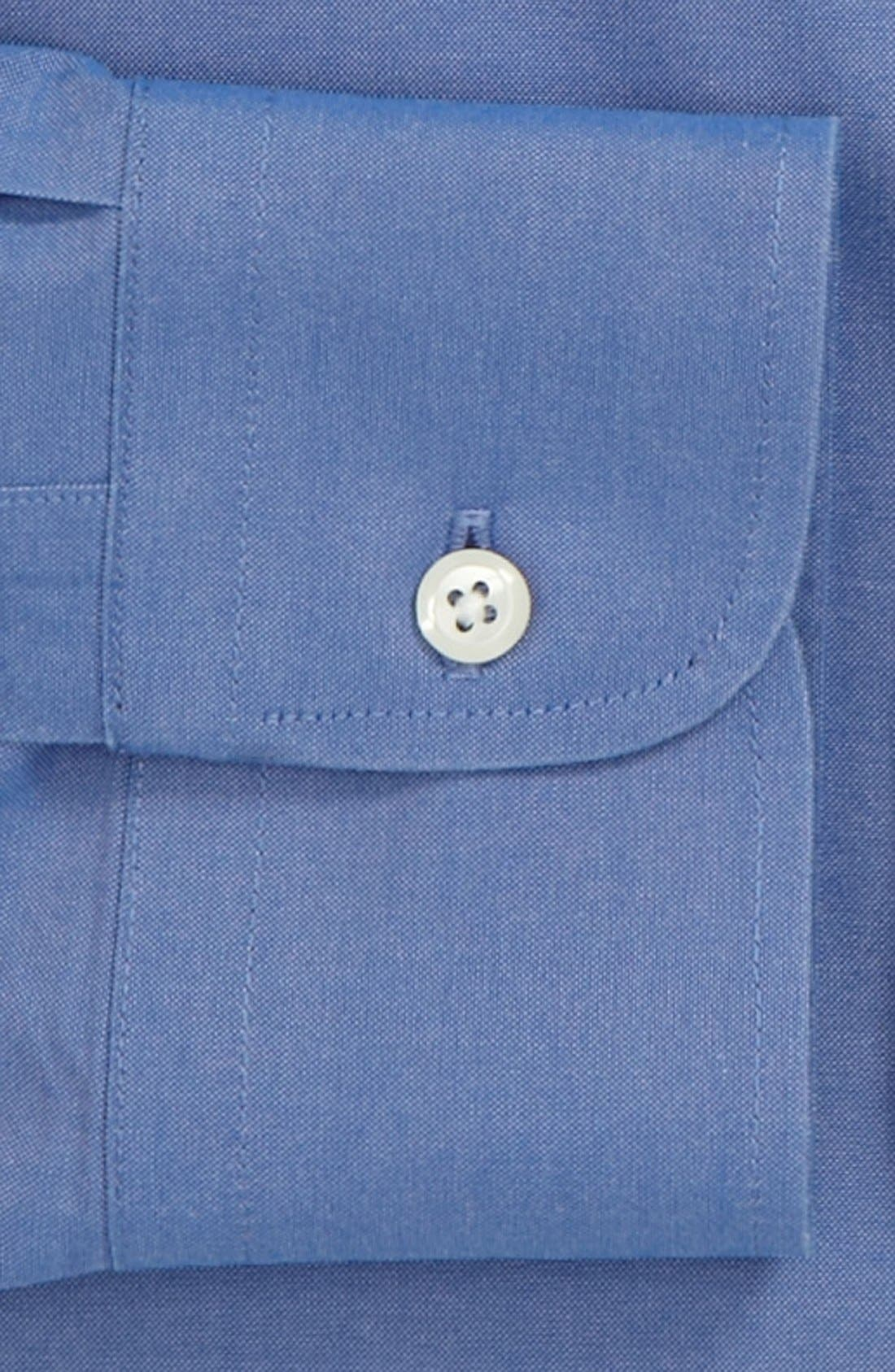 Smartcare<sup>™</sup> Traditional Fit Pinpoint Dress Shirt,                             Alternate thumbnail 81, color,