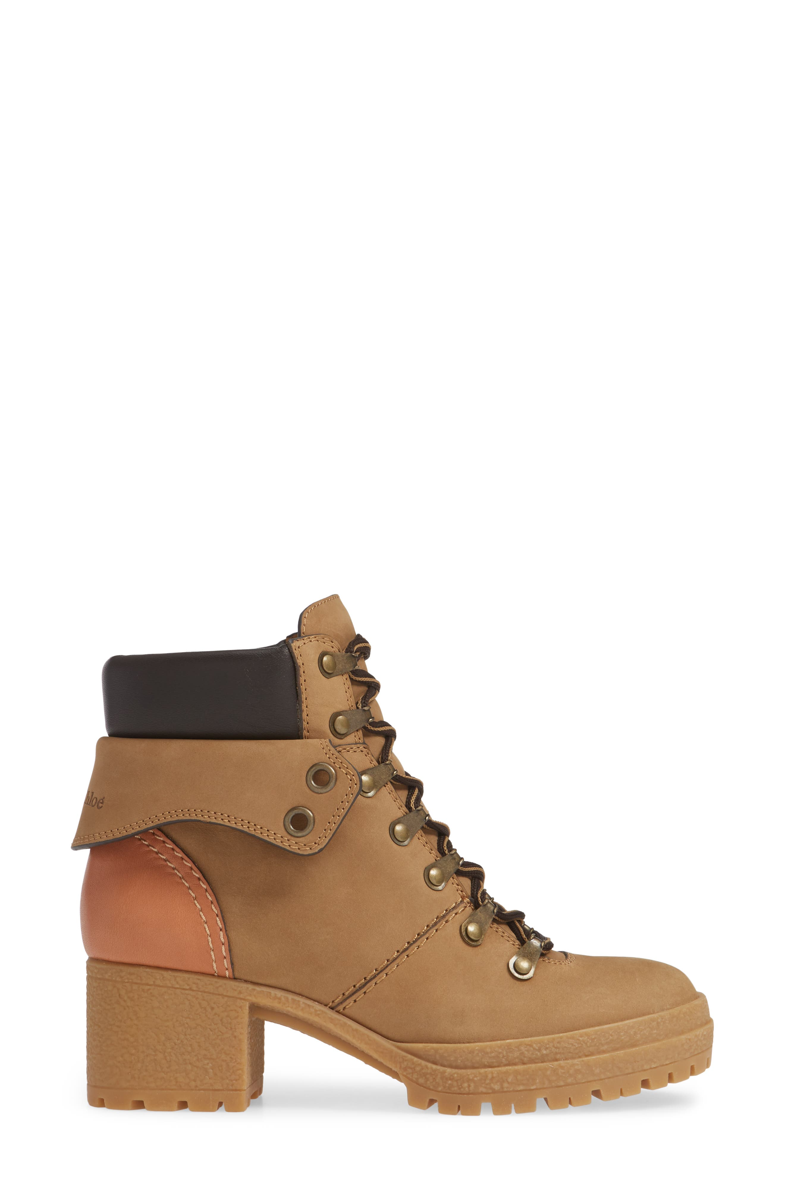 Eileen Lace-Up Boot,                             Alternate thumbnail 3, color,                             250