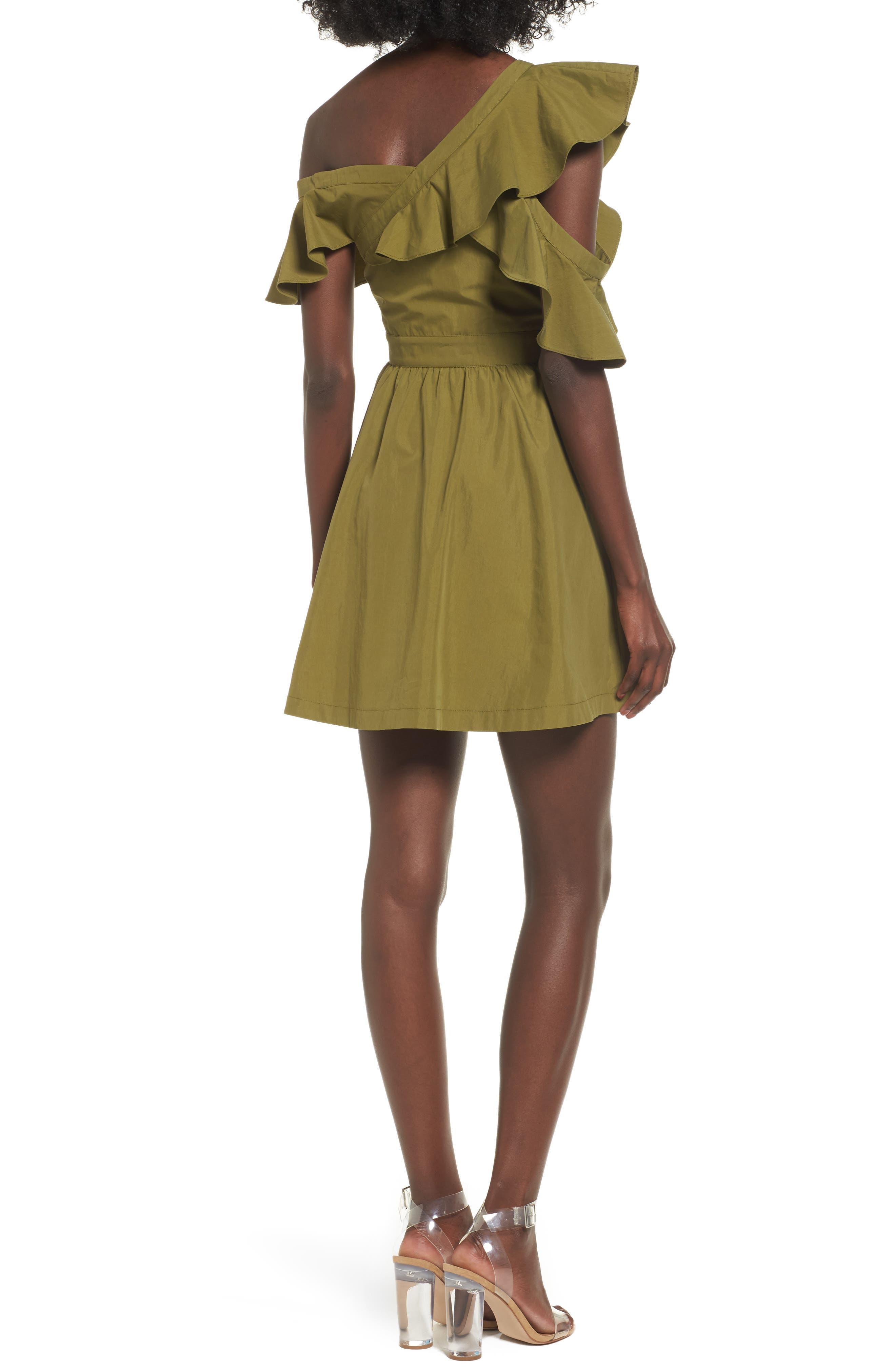 Ruffle Dress,                             Alternate thumbnail 2, color,                             300
