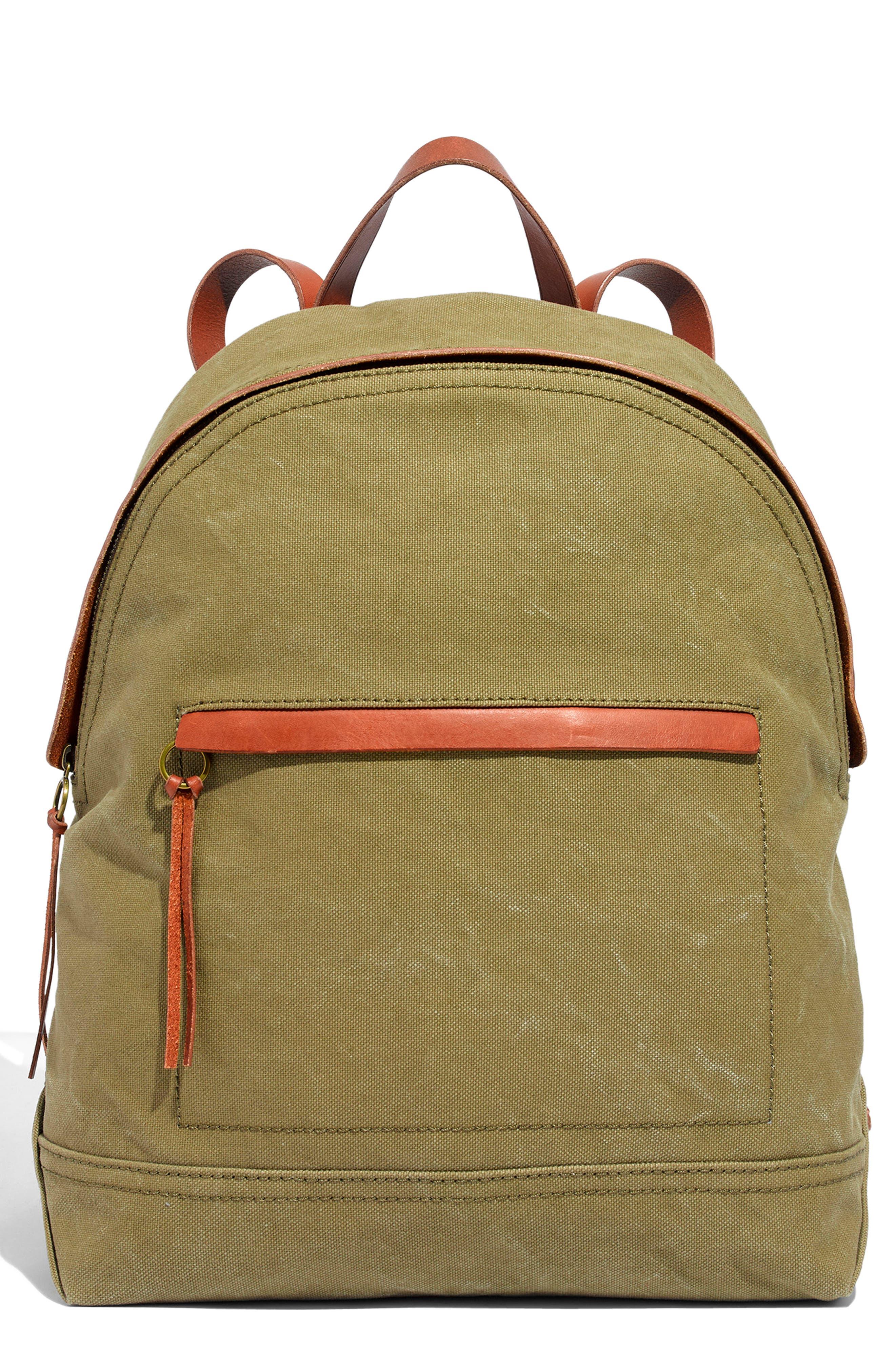 The Charleston Backpack - Green in British Surplus