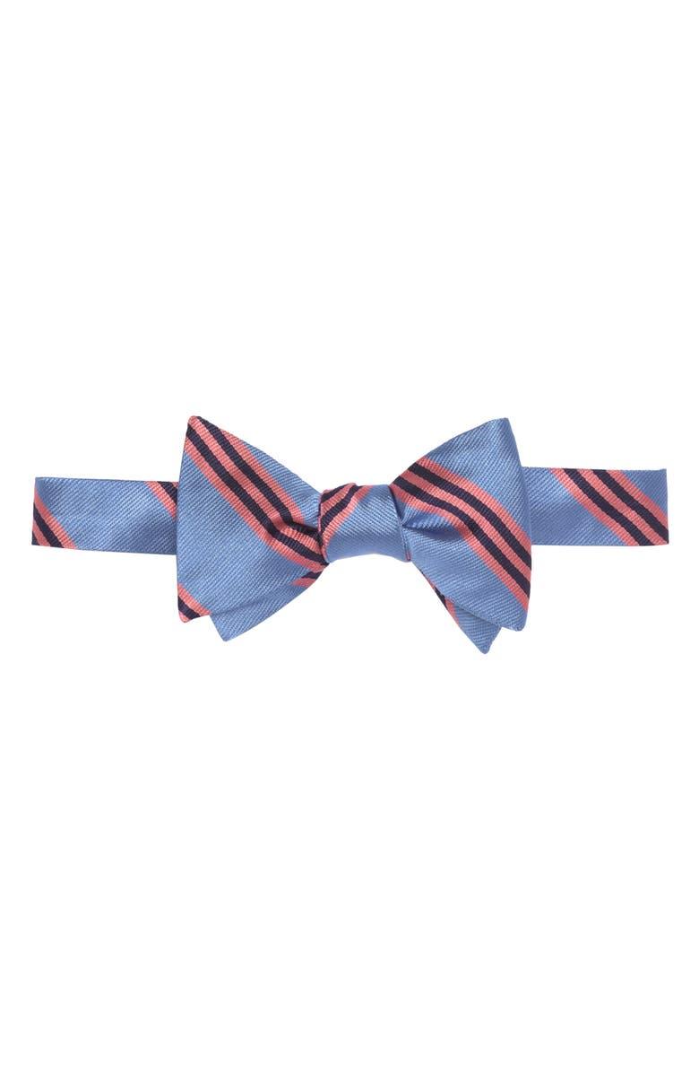 Silk Stripe Bow Tie
