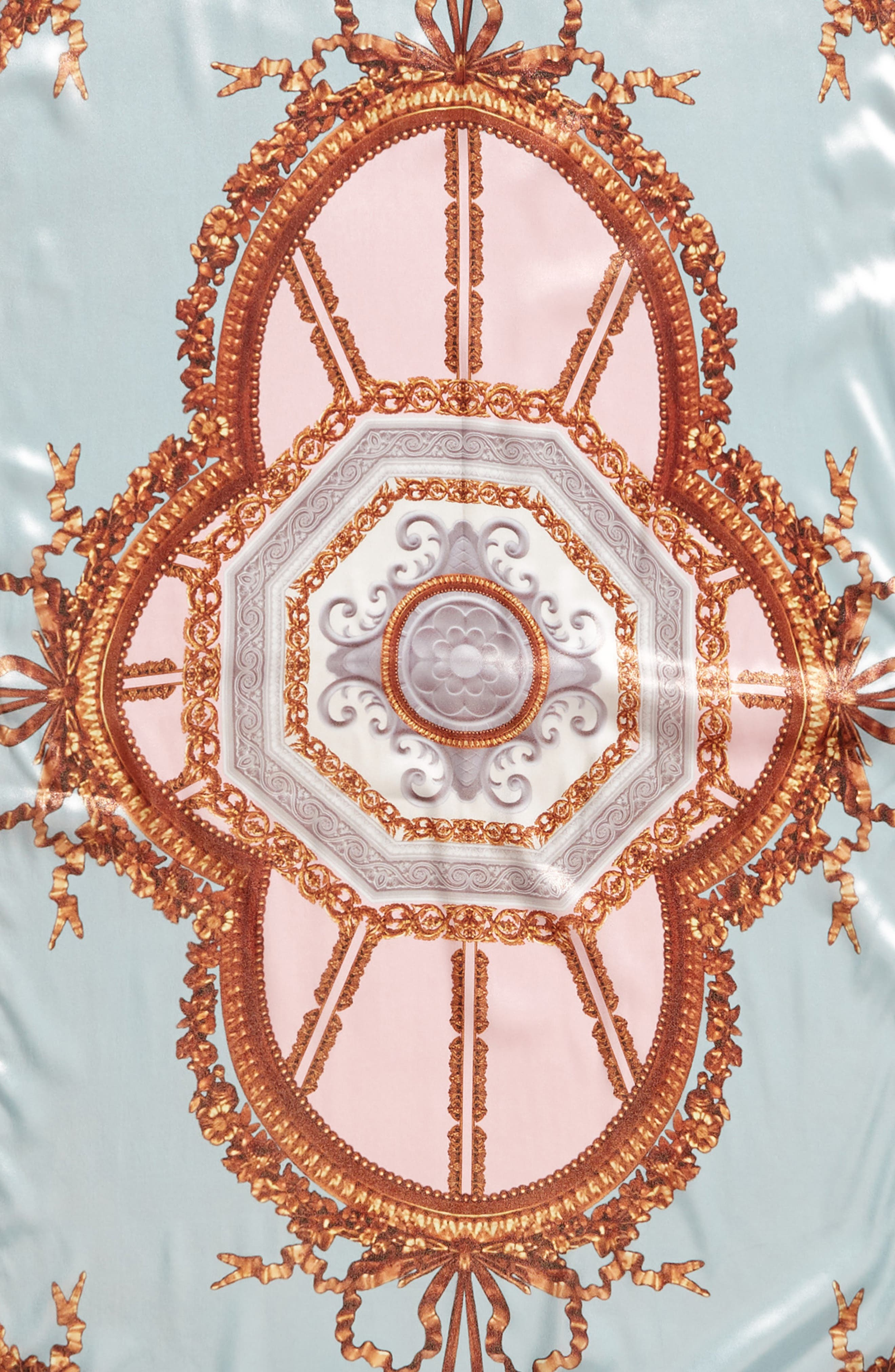 Versailles Silk Scarf,                             Alternate thumbnail 4, color,                             440