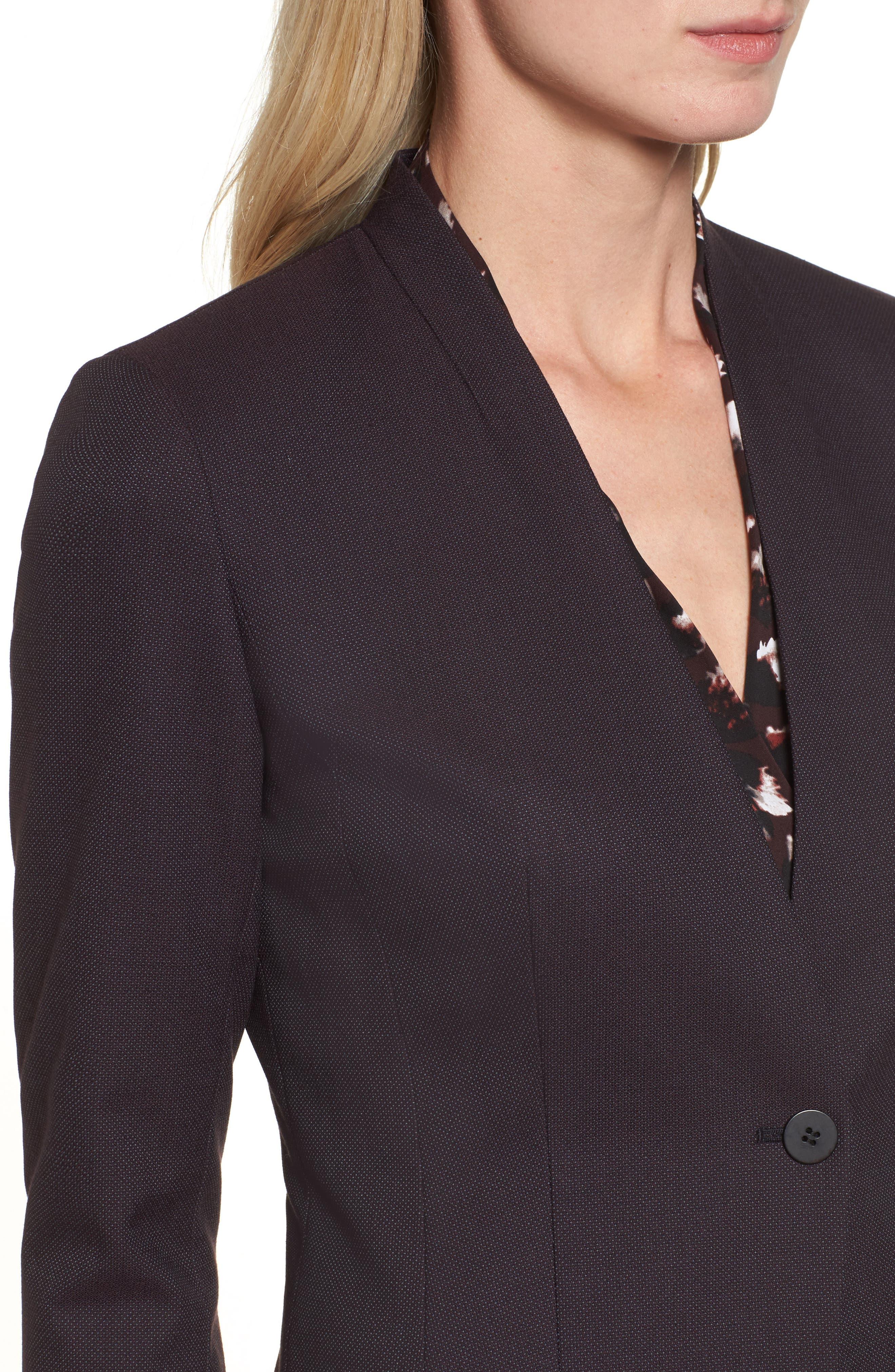 One-Button Suit Jacket,                             Alternate thumbnail 4, color,                             930