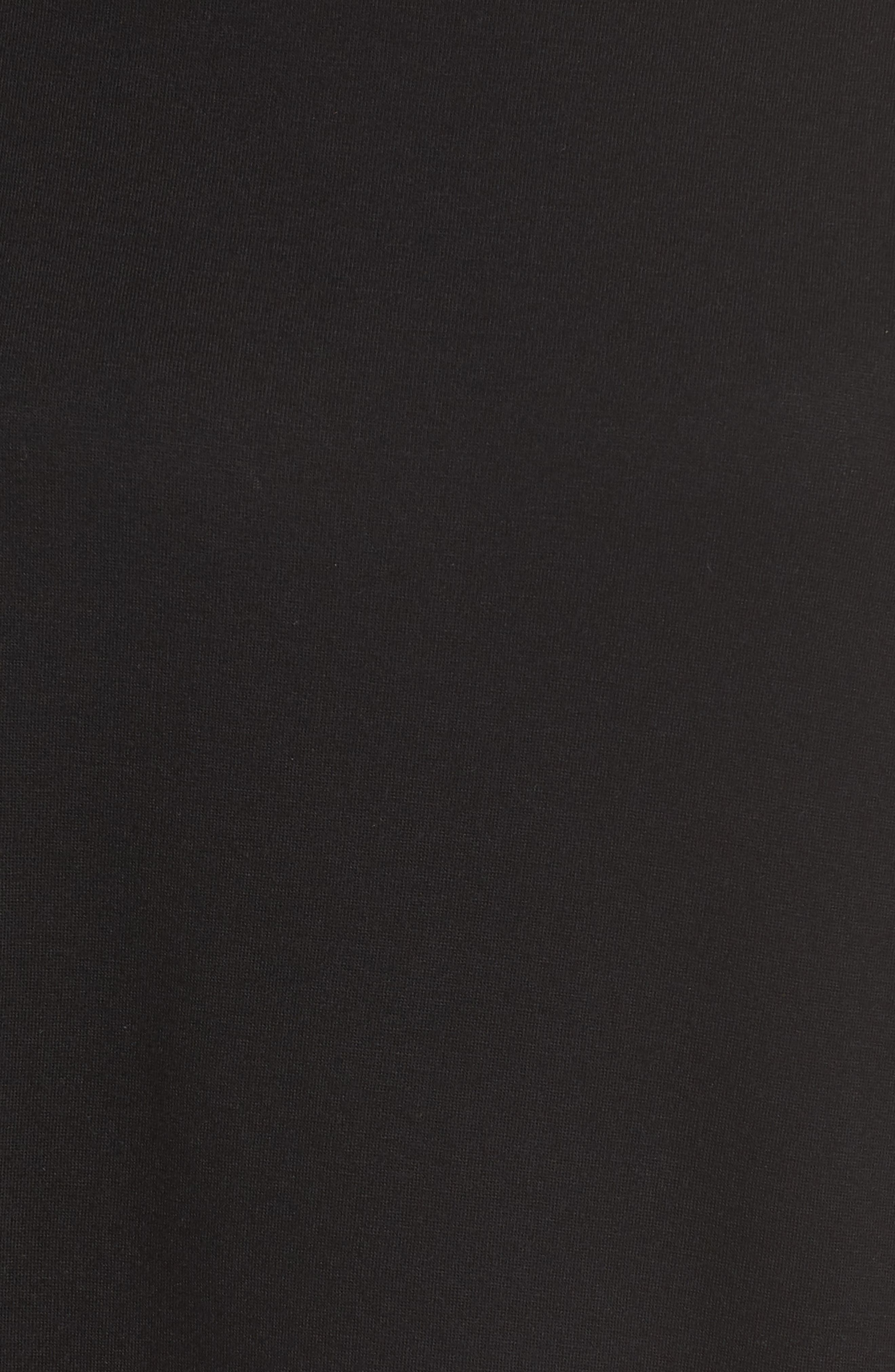 Luxe Shangri-La Pajamas,                             Alternate thumbnail 5, color,                             BLACK/ COCOON