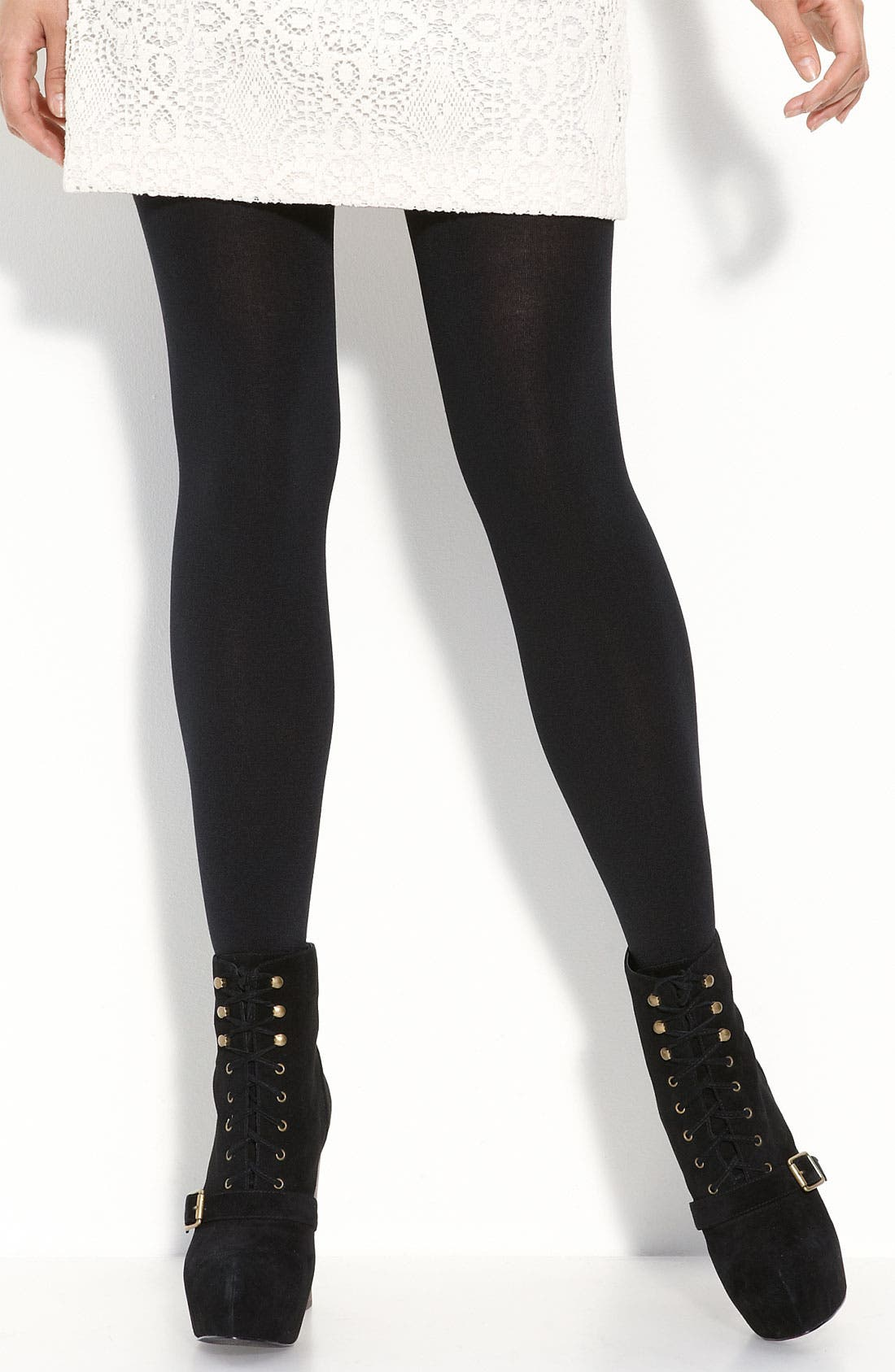Brushed Sweater Tights, Main, color, 001
