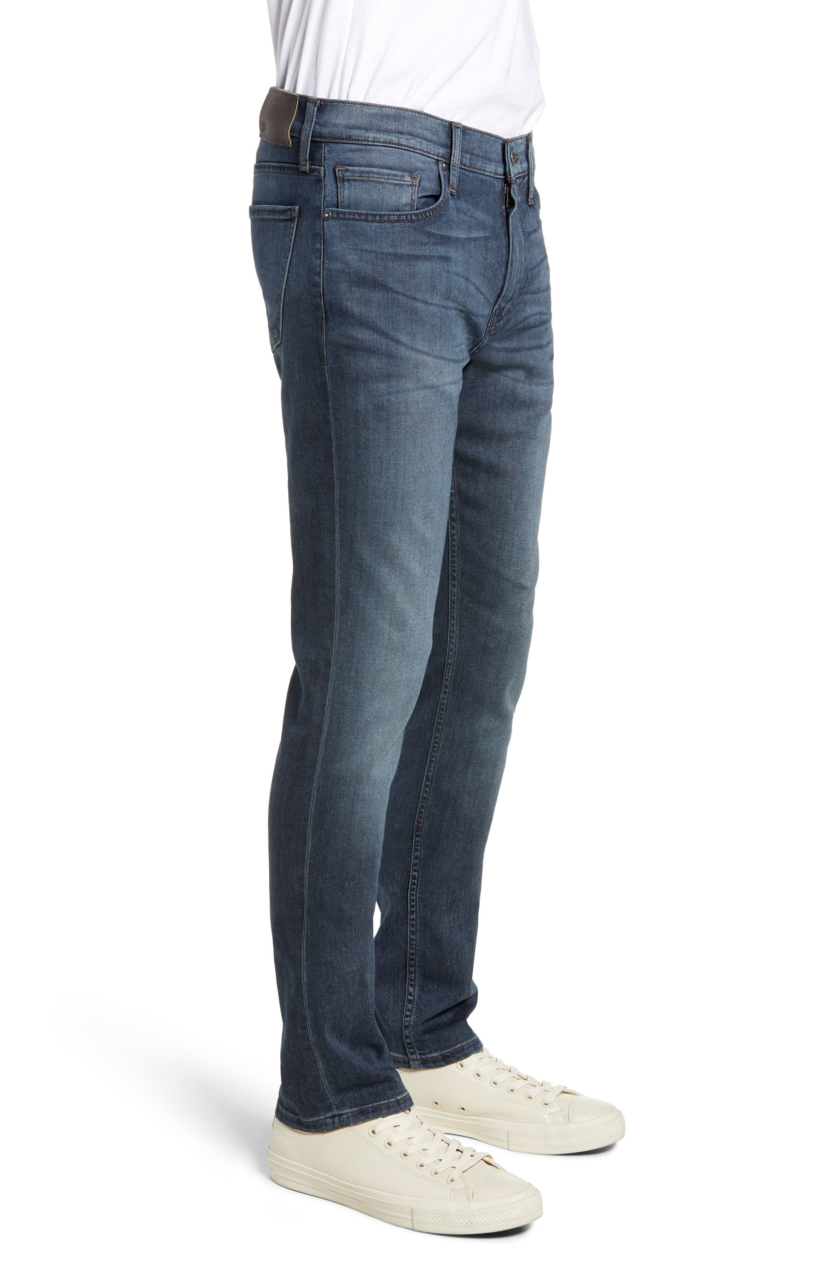 PAIGE,                             Transcend - Federal Slim Straight Leg Jeans,                             Alternate thumbnail 3, color,                             GARNER