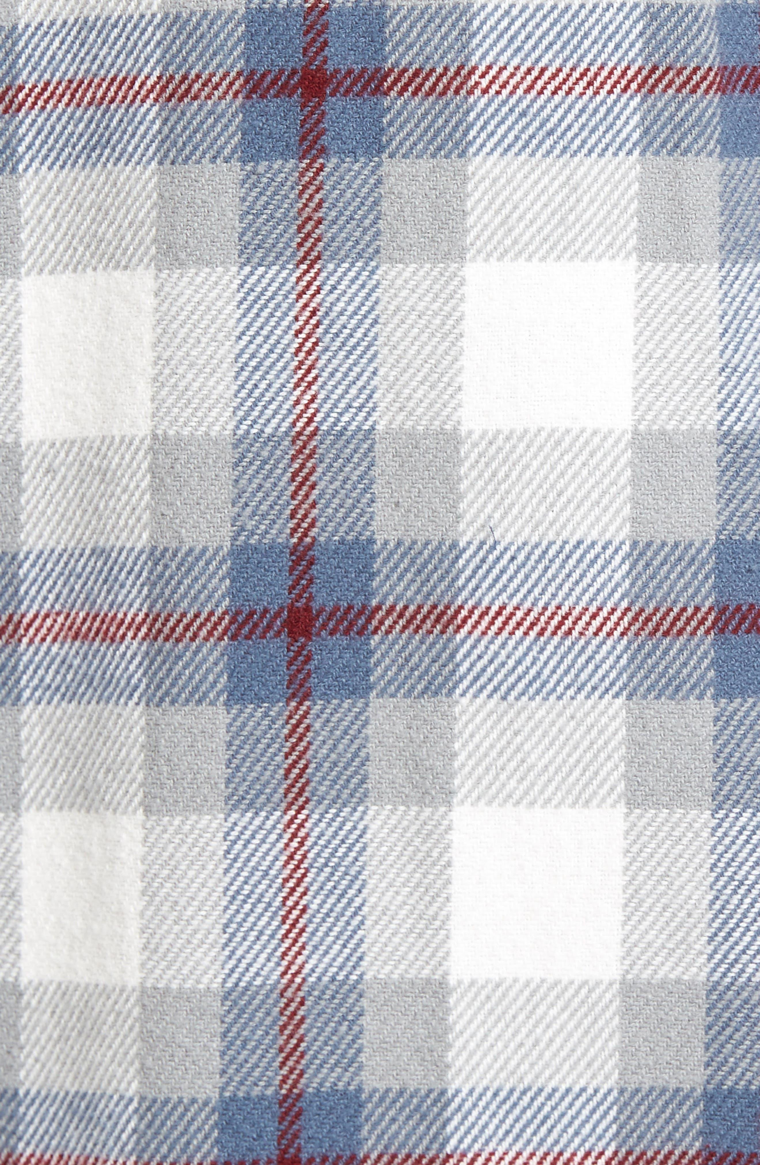 'That'll Work' Trim Fit Plaid Flannel Shirt,                             Alternate thumbnail 25, color,