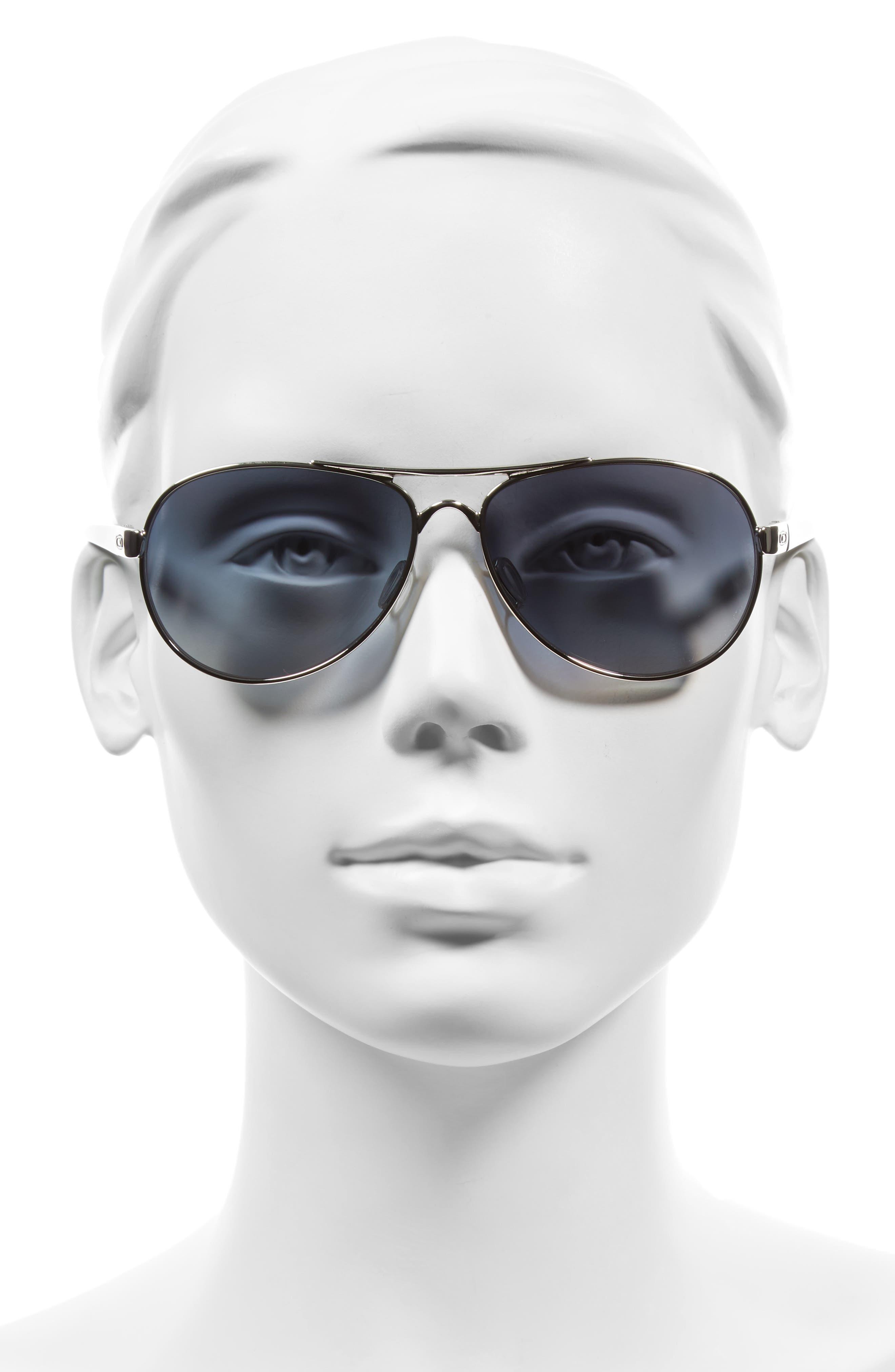 Tie Breaker 55mm Polarized Sunglasses,                             Alternate thumbnail 3, color,