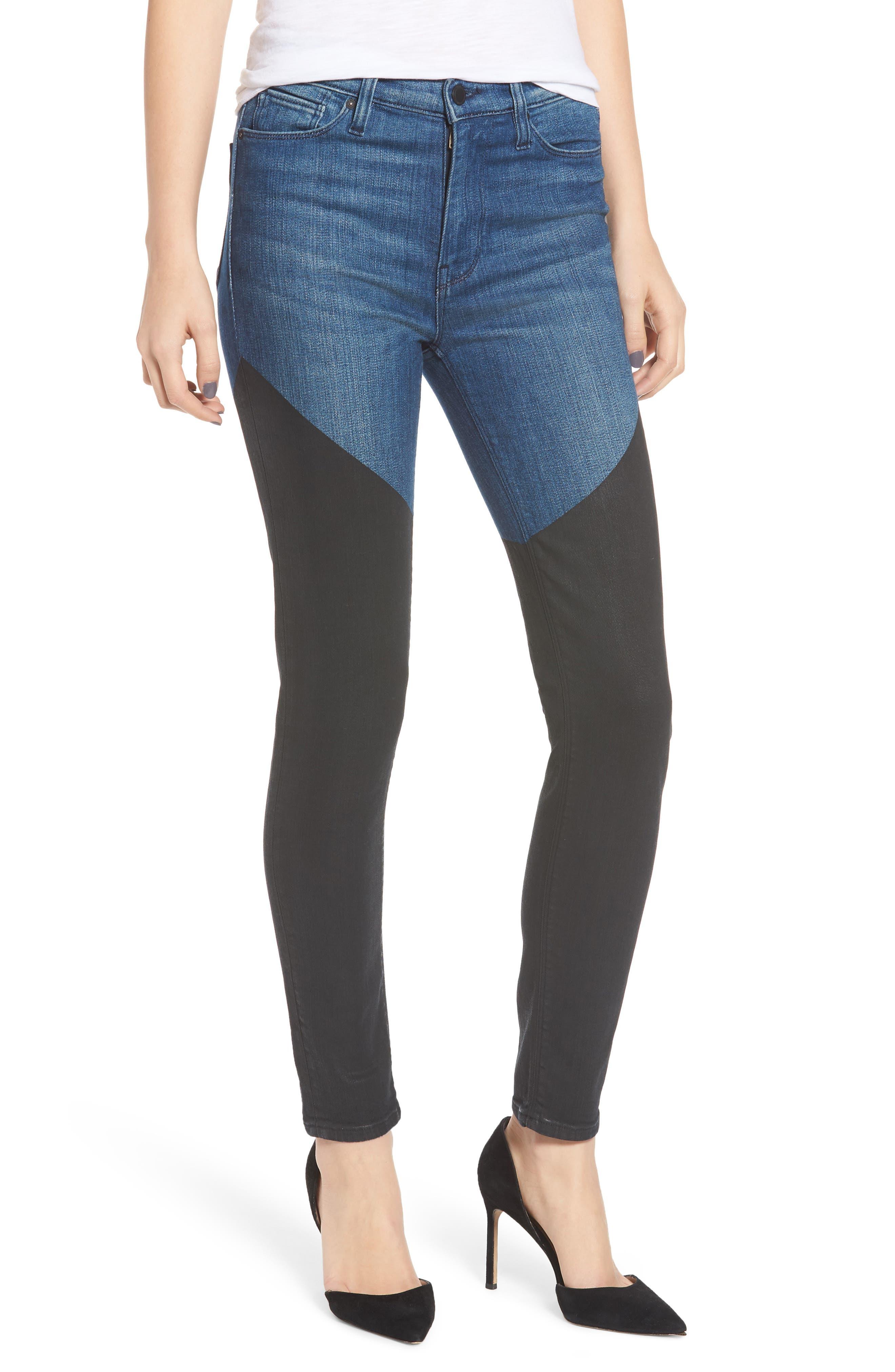 HUDSON Barbara Coated Super Skinny Ankle Jeans In Tribulation