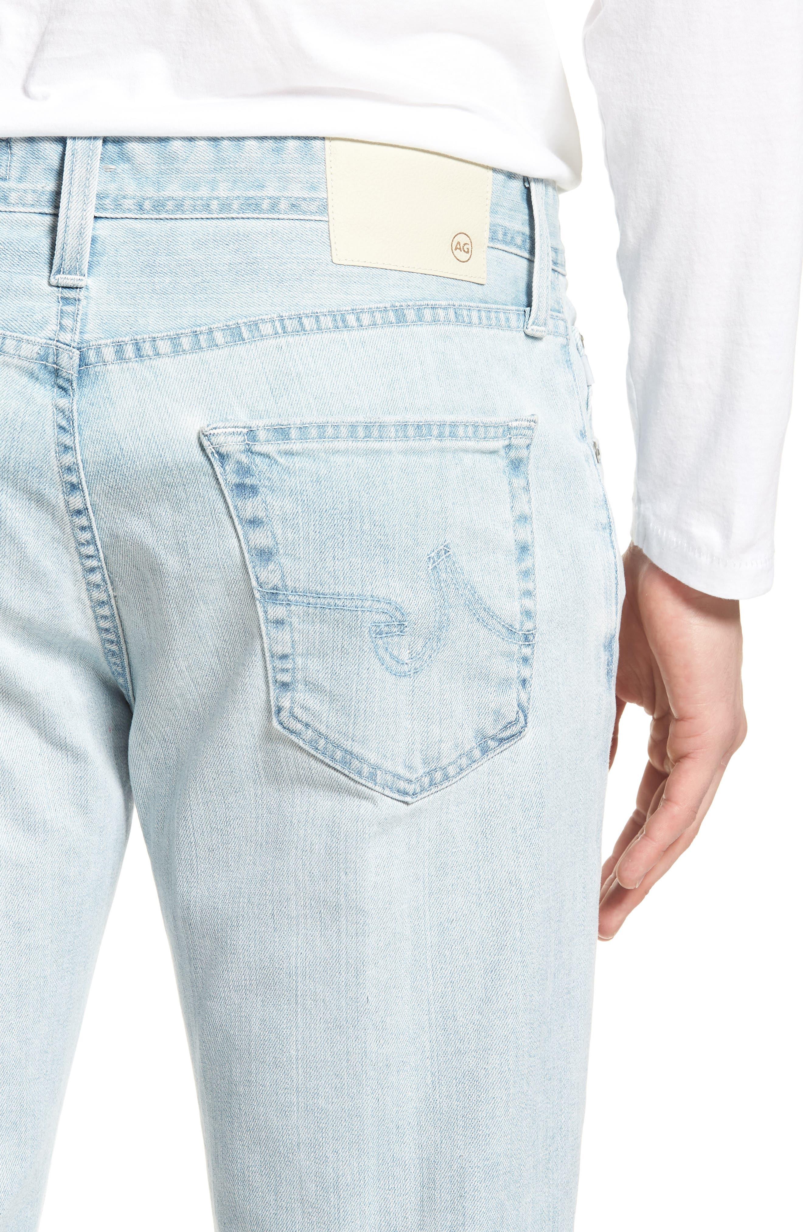 Graduate Slim Straight Leg Jeans,                             Alternate thumbnail 4, color,                             400