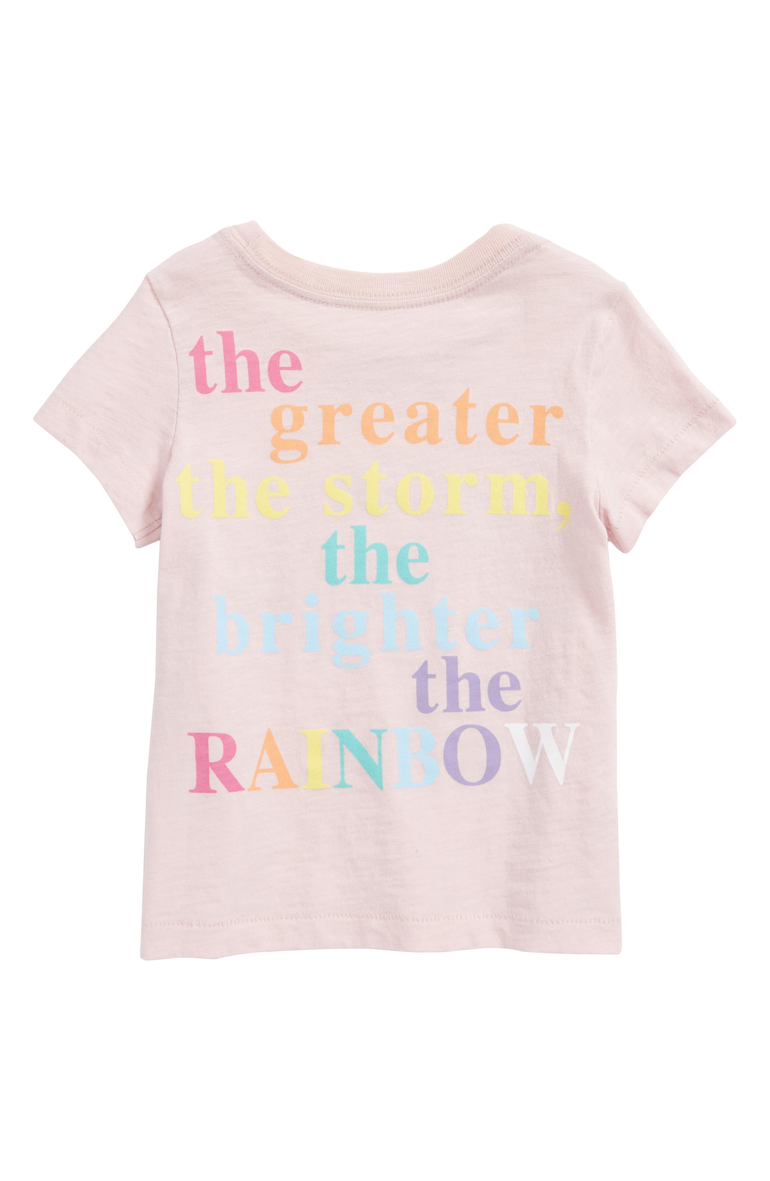 Rainbow Graphic Tee,                             Alternate thumbnail 2, color,                             682