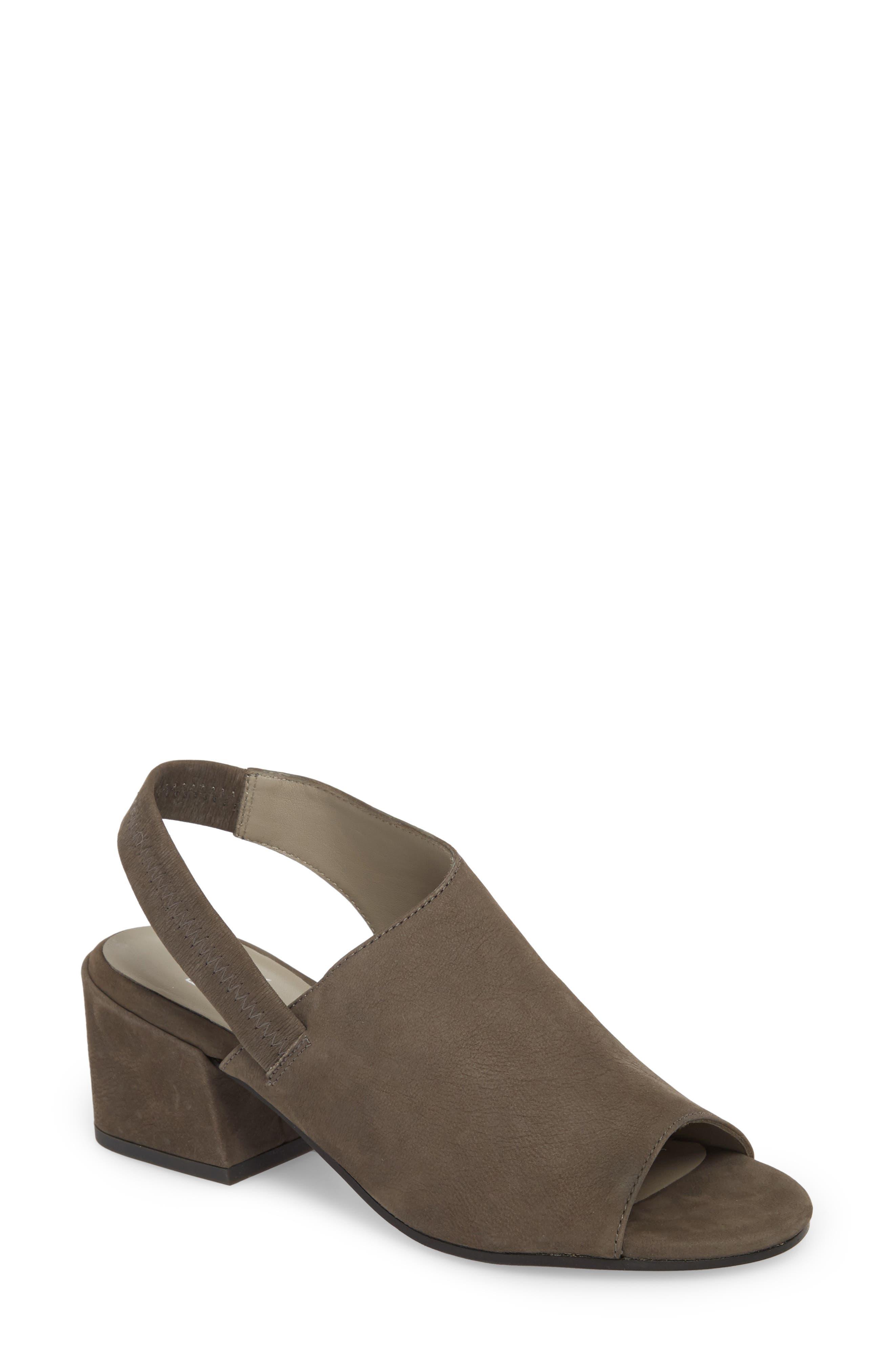 Leigh Asymmetrical Slingback Sandal,                             Main thumbnail 3, color,