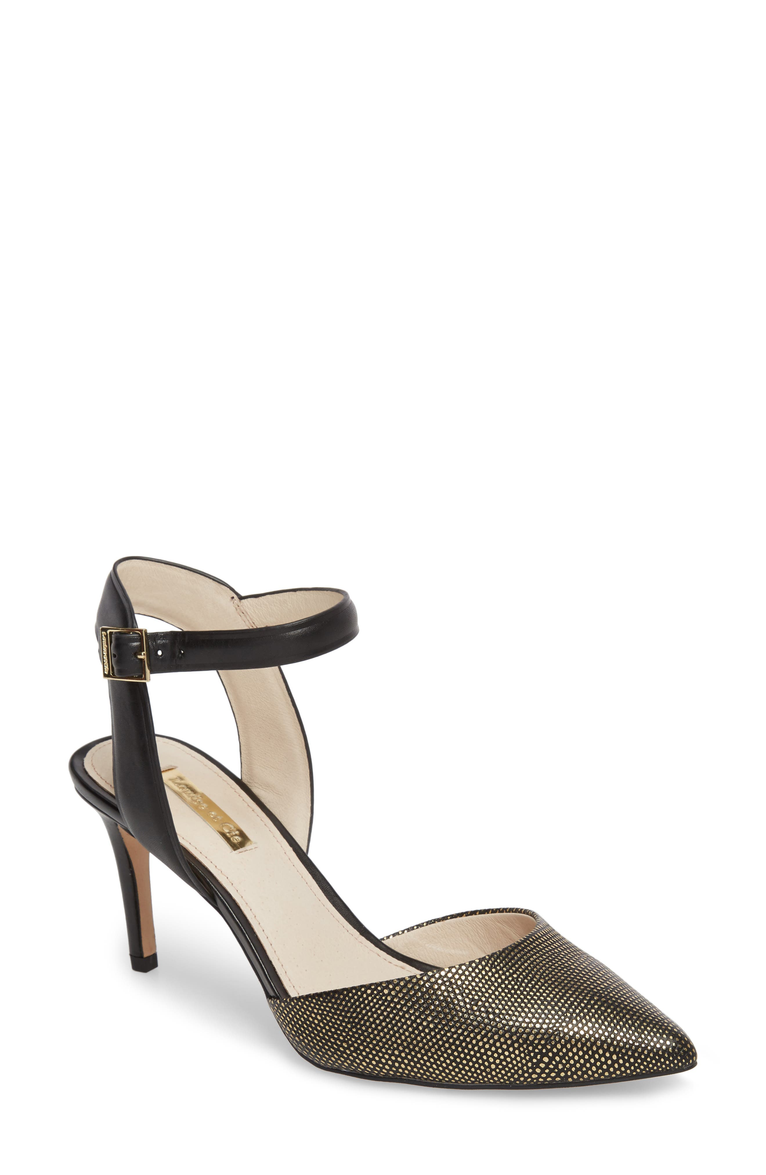 Kota Ankle Strap Pump,                             Main thumbnail 1, color,                             002