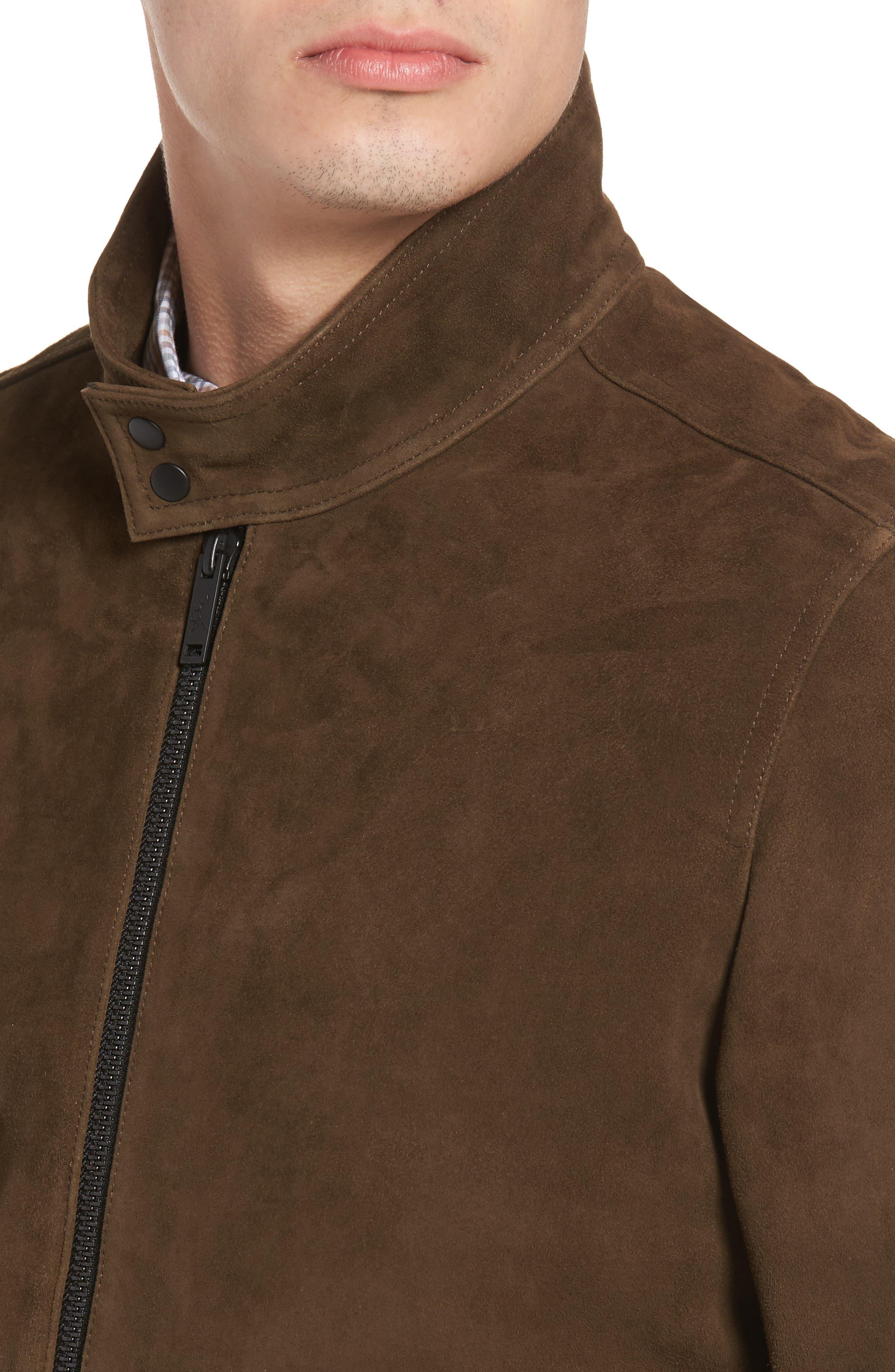 Avondale Suede Jacket,                             Alternate thumbnail 4, color,                             230