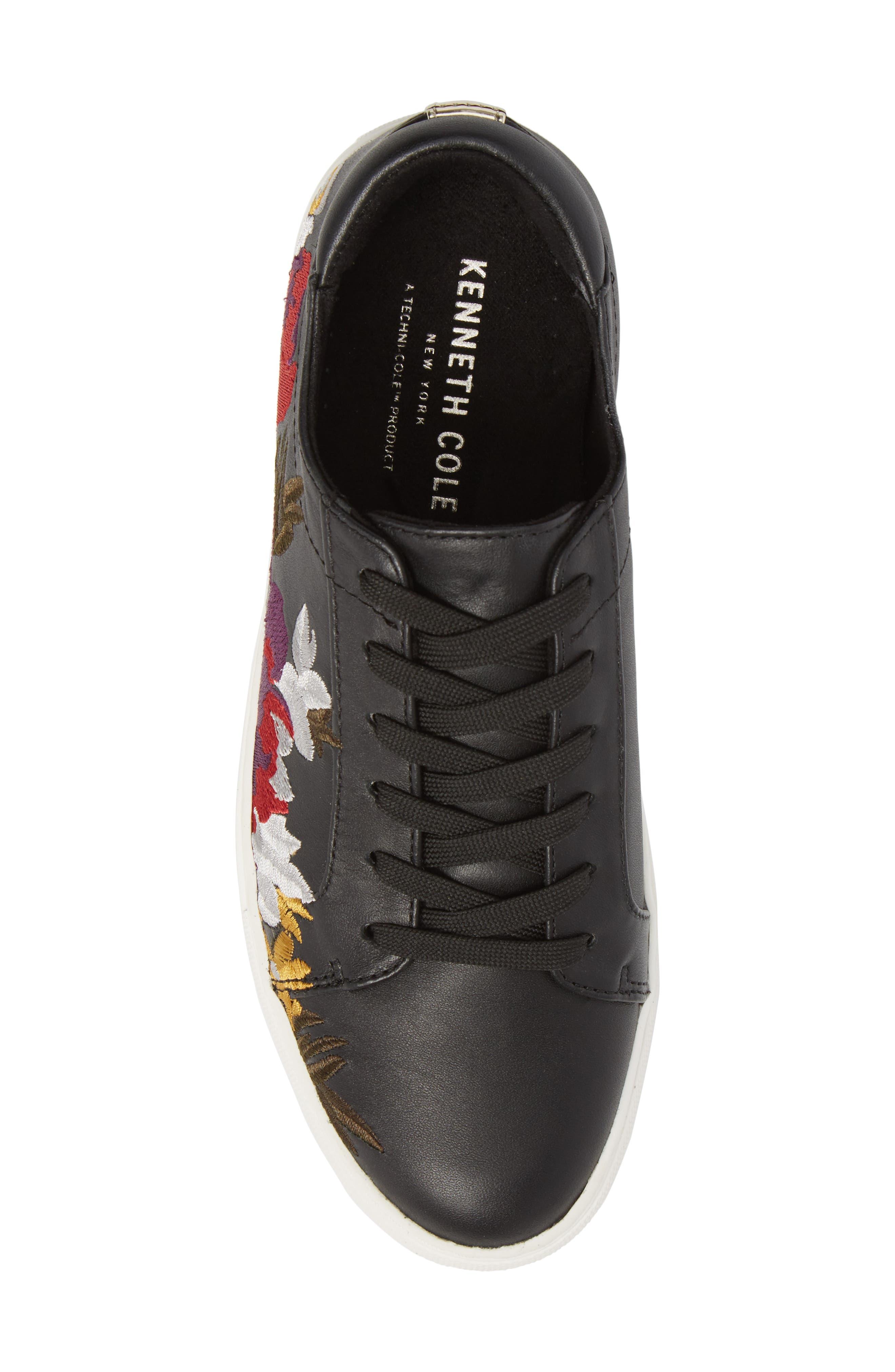 Abbey Platform Sneaker,                             Alternate thumbnail 5, color,                             002