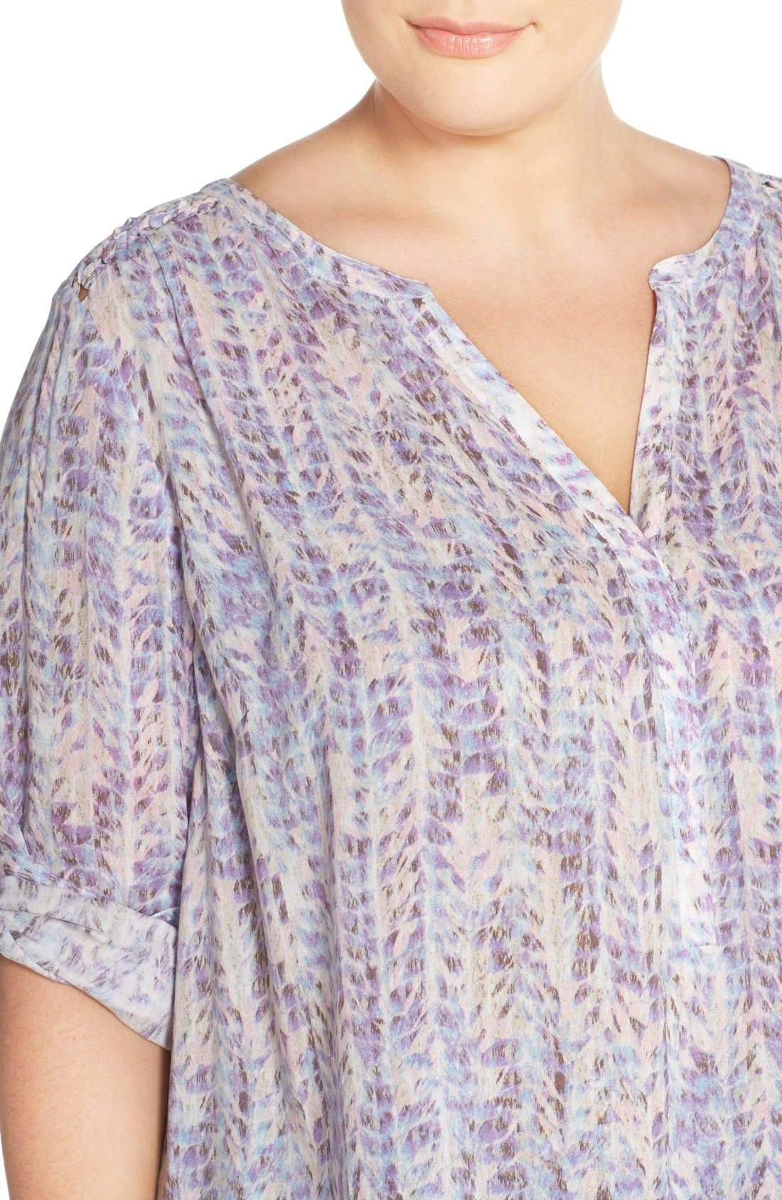 Henley Top,                             Alternate thumbnail 318, color,