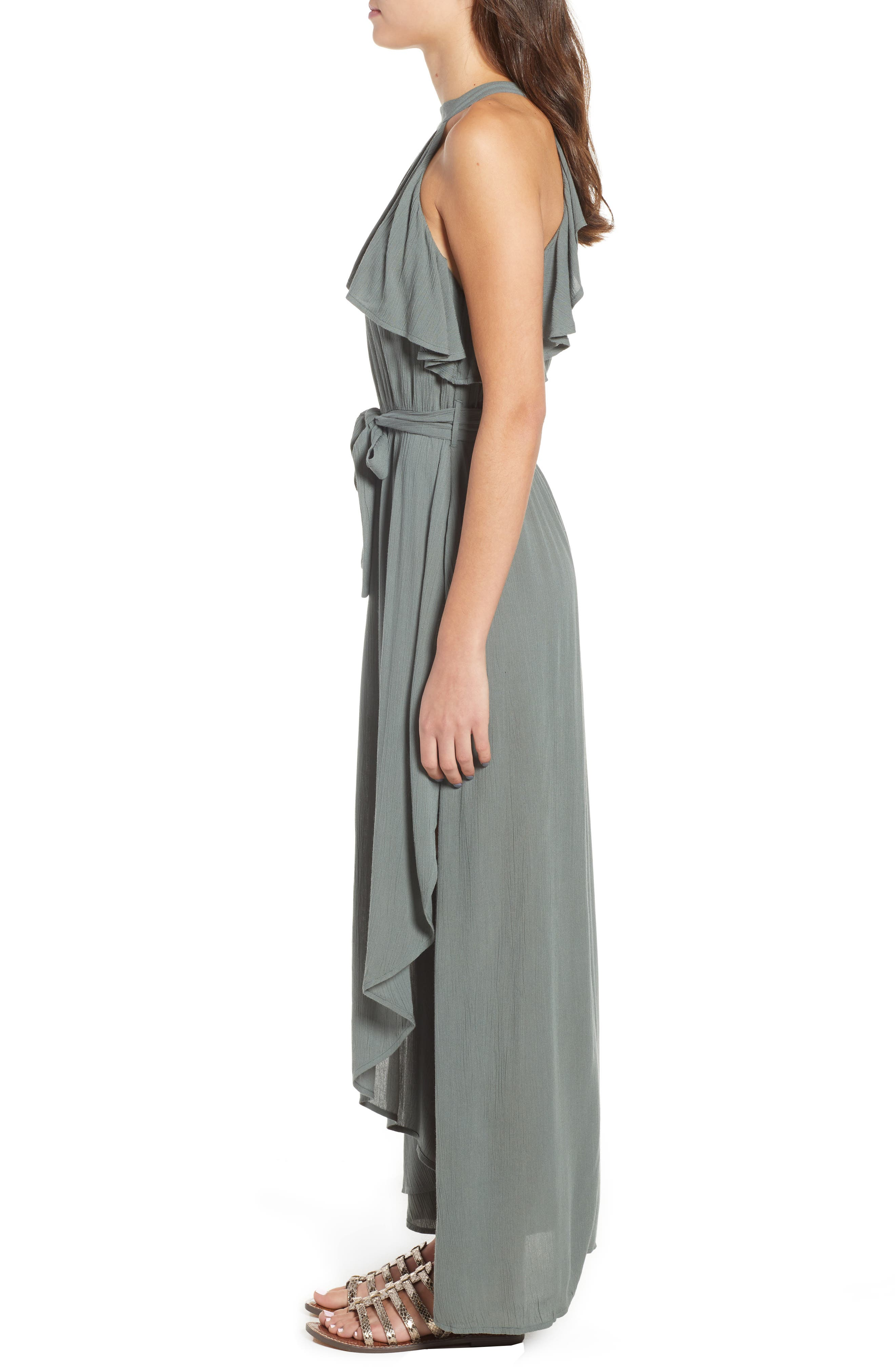 Misty Asymmetrical Dress,                             Alternate thumbnail 3, color,                             300