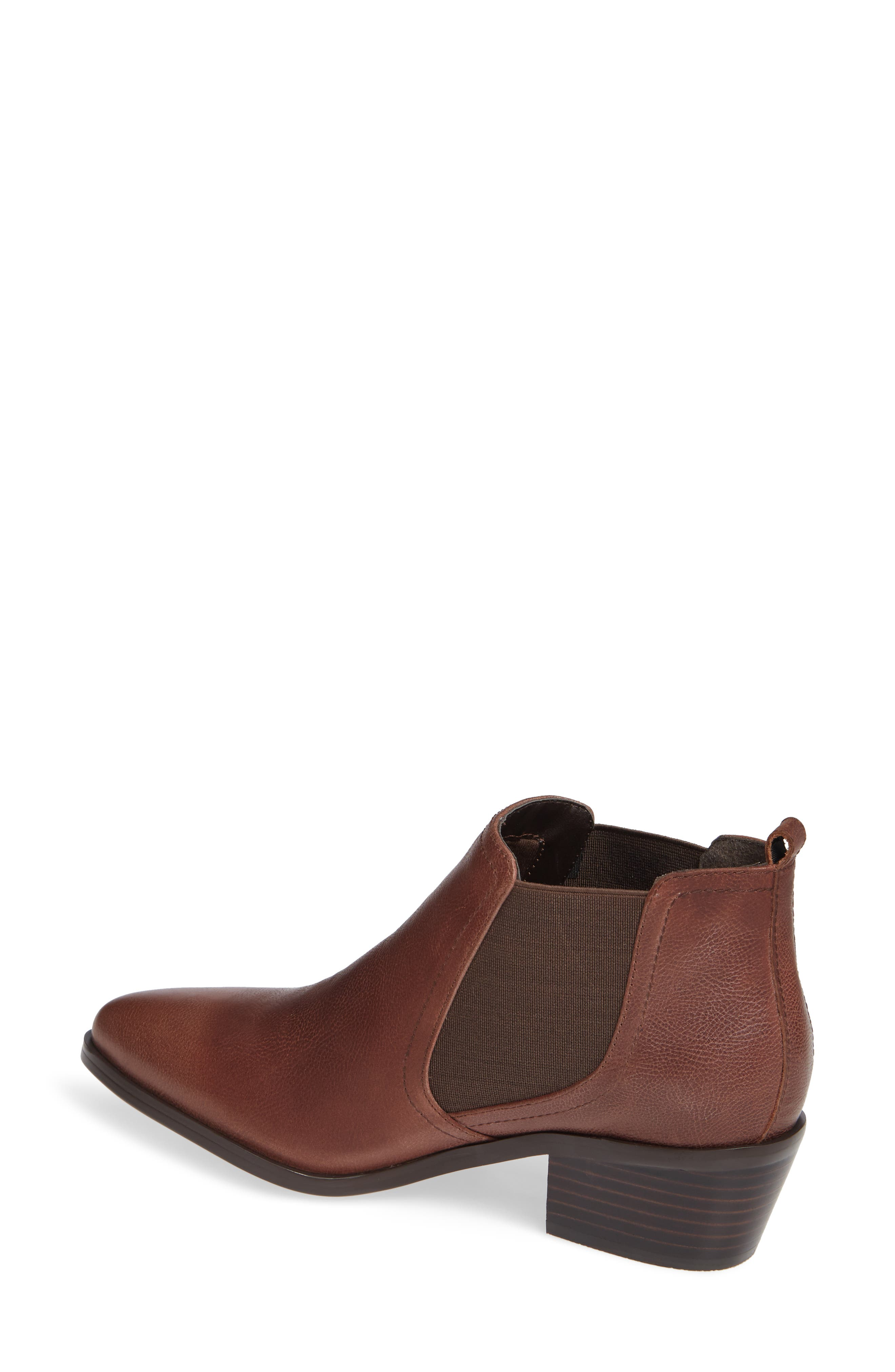 Maxie Chelsea Boot,                             Alternate thumbnail 2, color,                             LUGGAGE LEATHER