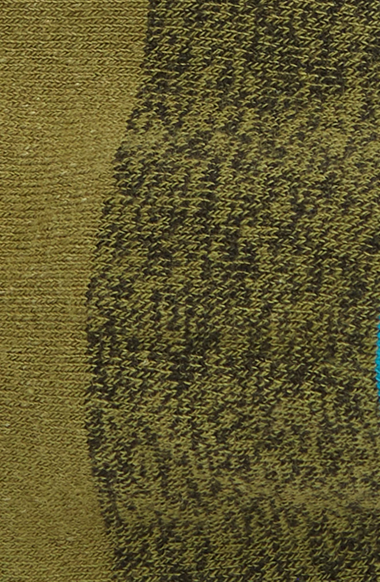 Gamut Liner Socks,                             Alternate thumbnail 2, color,                             OLIVE