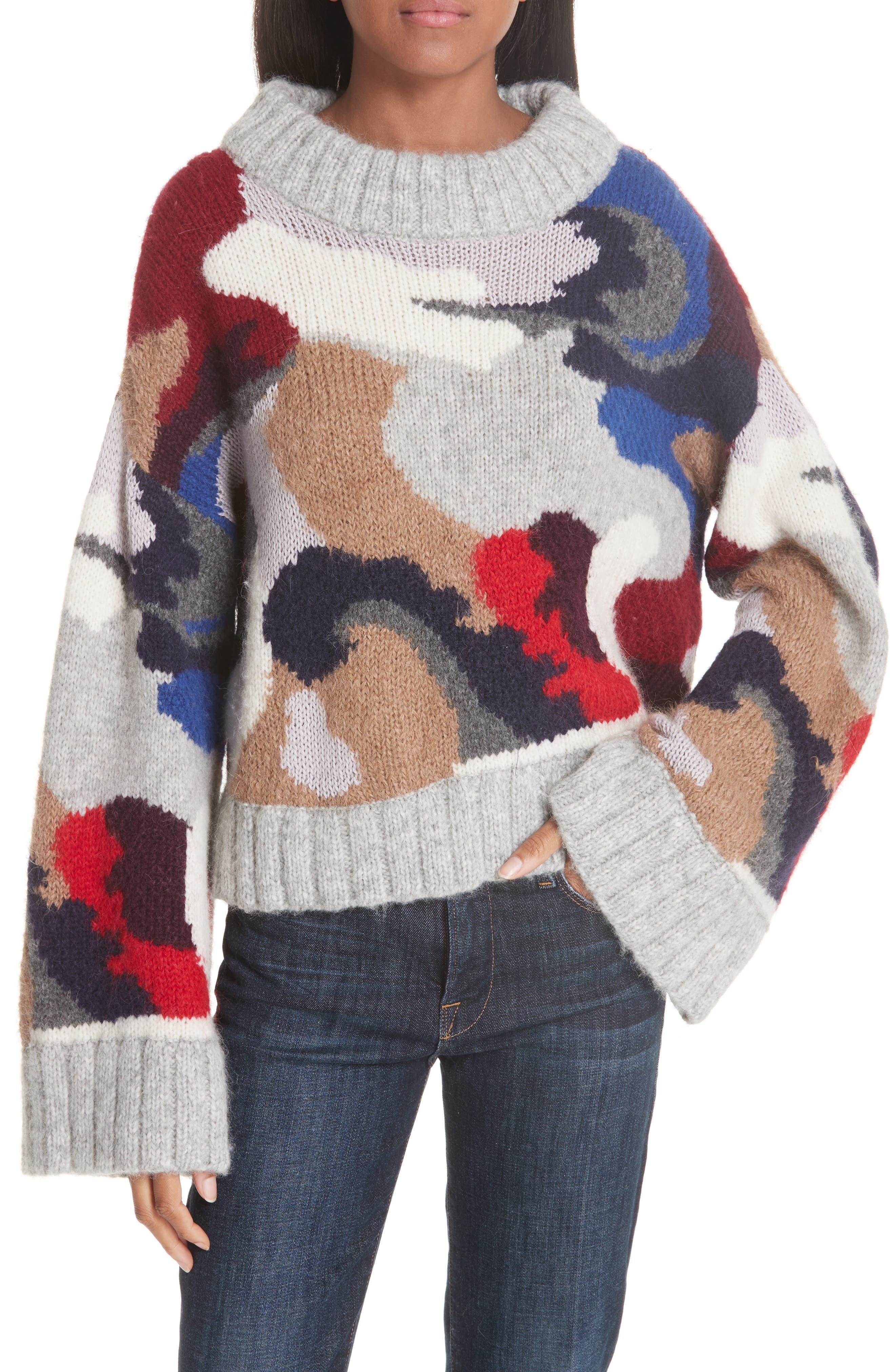 Kira Alpaca Blend Sweater, Main, color, 020