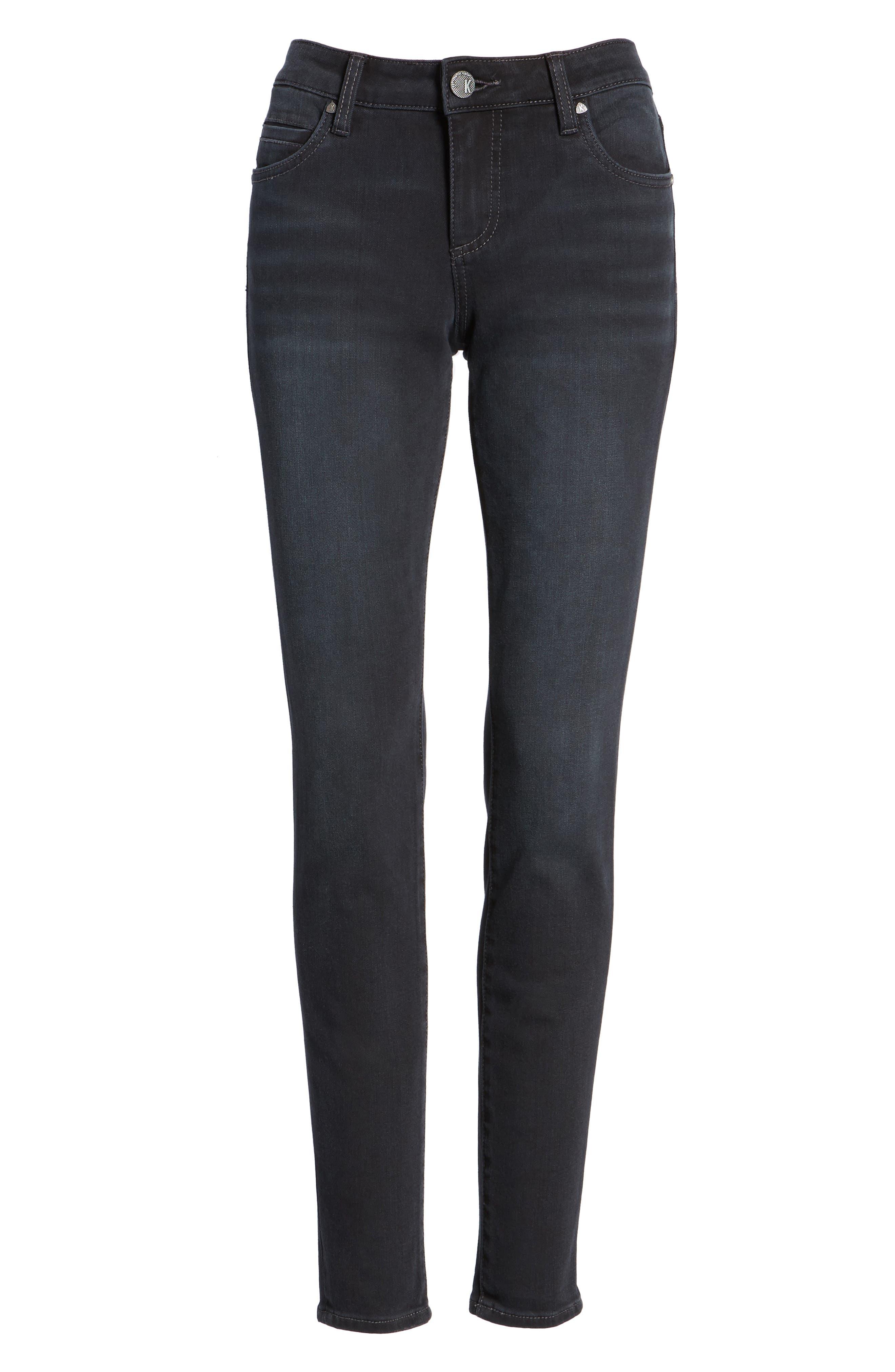 Mia Toothpick Skinny Jeans,                             Alternate thumbnail 6, color,                             071