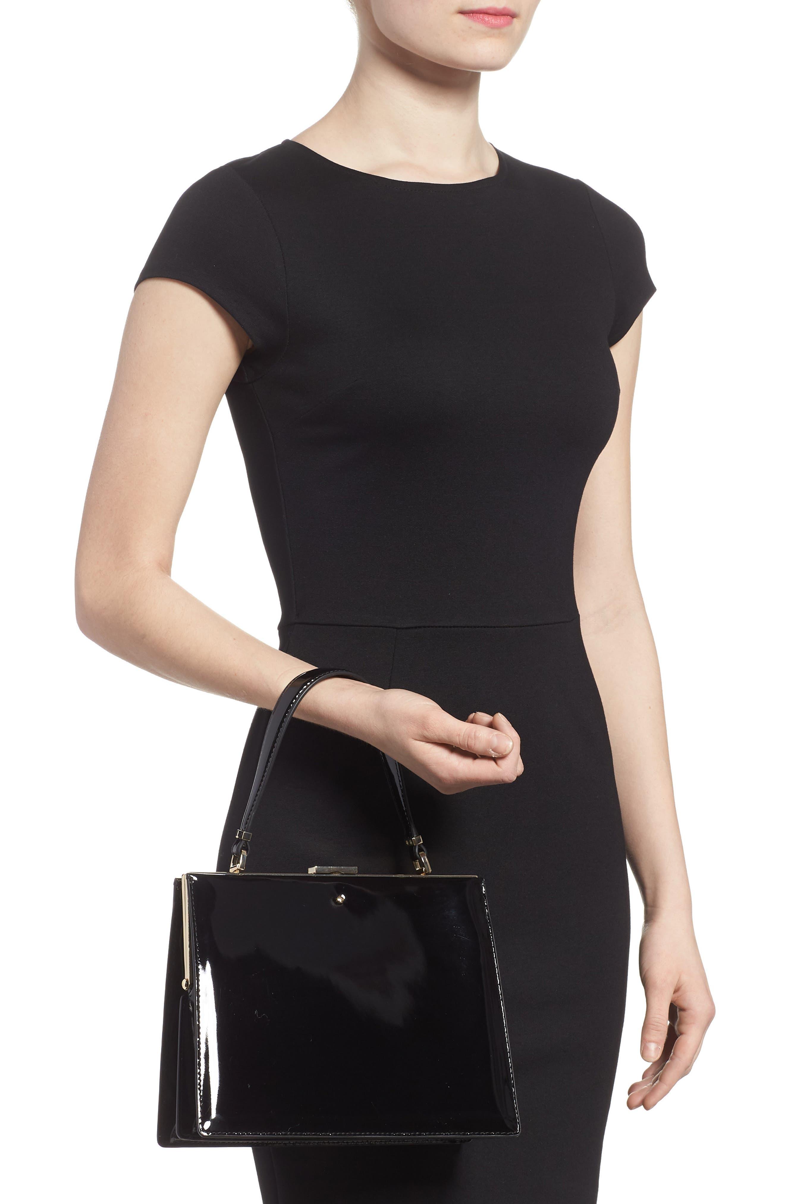 madison moore road - chari leather handbag,                             Alternate thumbnail 2, color,                             001