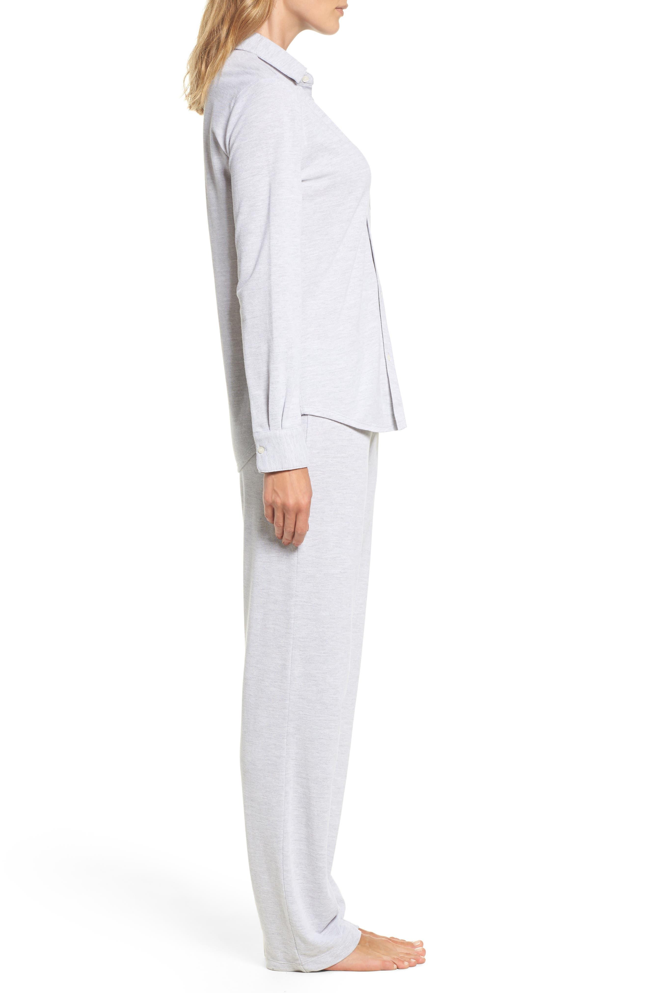 Long Pajamas,                             Alternate thumbnail 3, color,                             028
