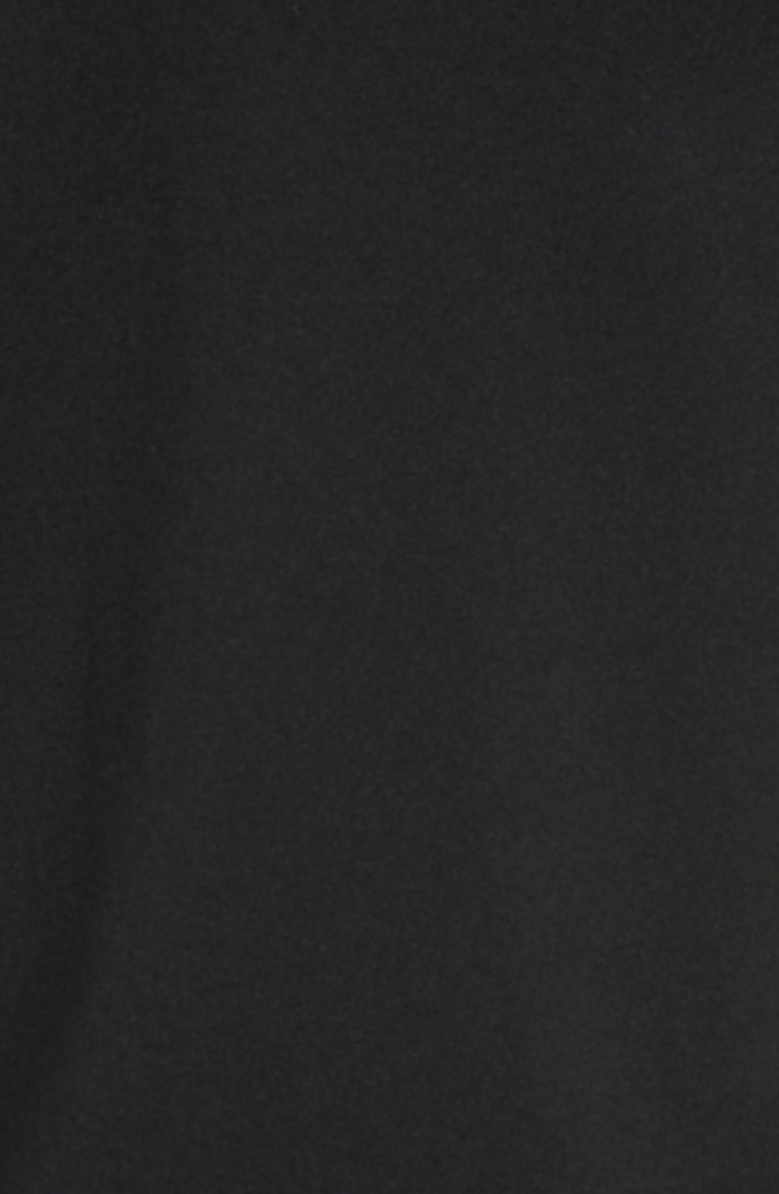 Piqué T-Shirt,                             Alternate thumbnail 5, color,                             BLACK/ MARINO/ WHITE